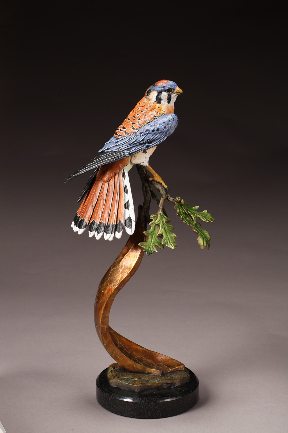 "Kestrel on Watch | 20"" x 9""