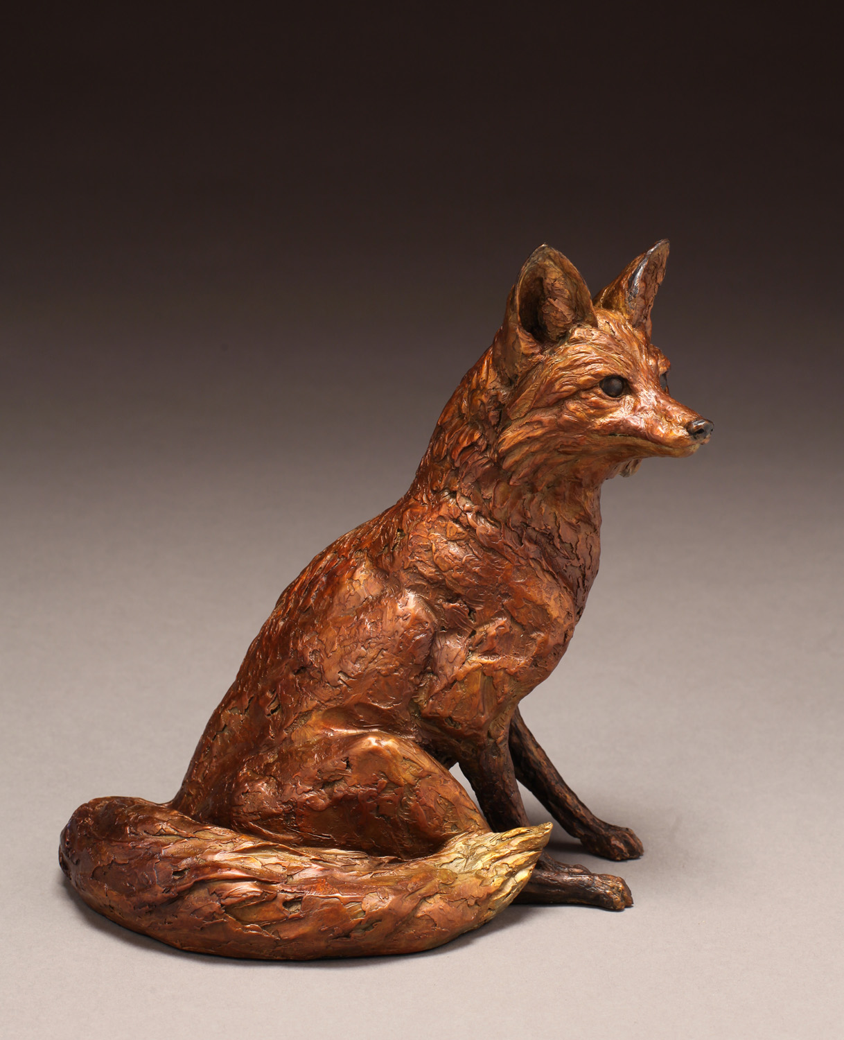 "Resting Fox | 10"" x 9"" x 6"" 