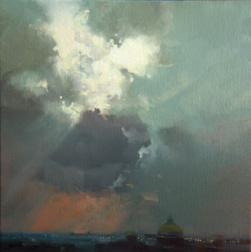 "Holy Light | 12"" x 12"" 