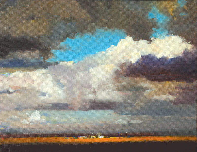 "Joy of Sky | 11"" x 14"" 