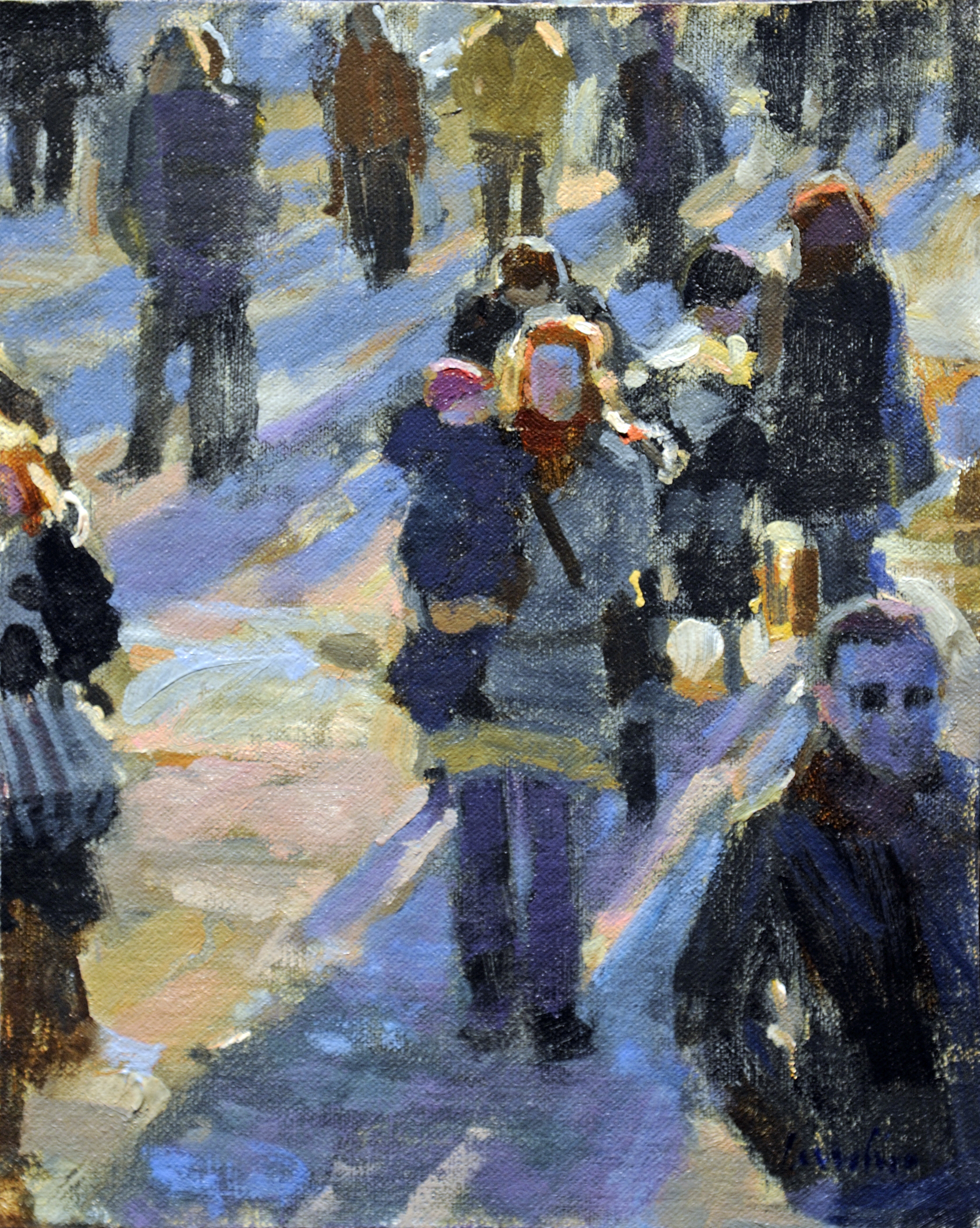 "Winter Walkers | 10"" x 8"" 