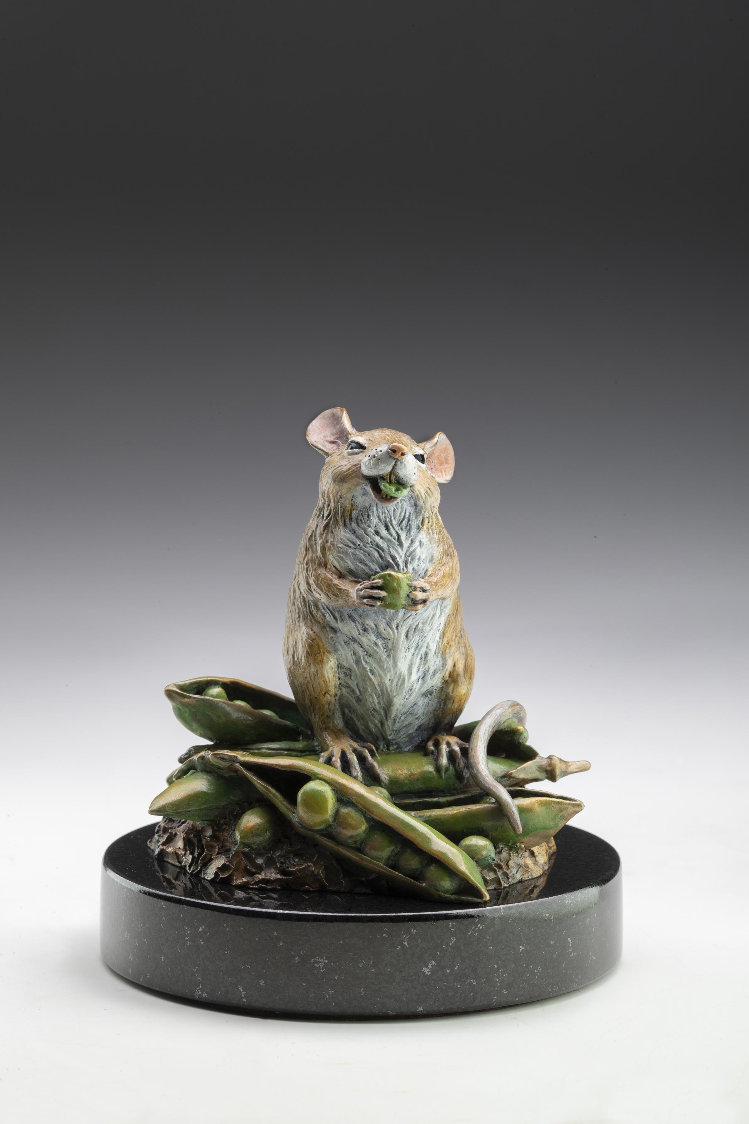 "Peas Prize | 4.75"" x 4.5"" x 4.5"" | Bronze | Edition of 75 | $975"