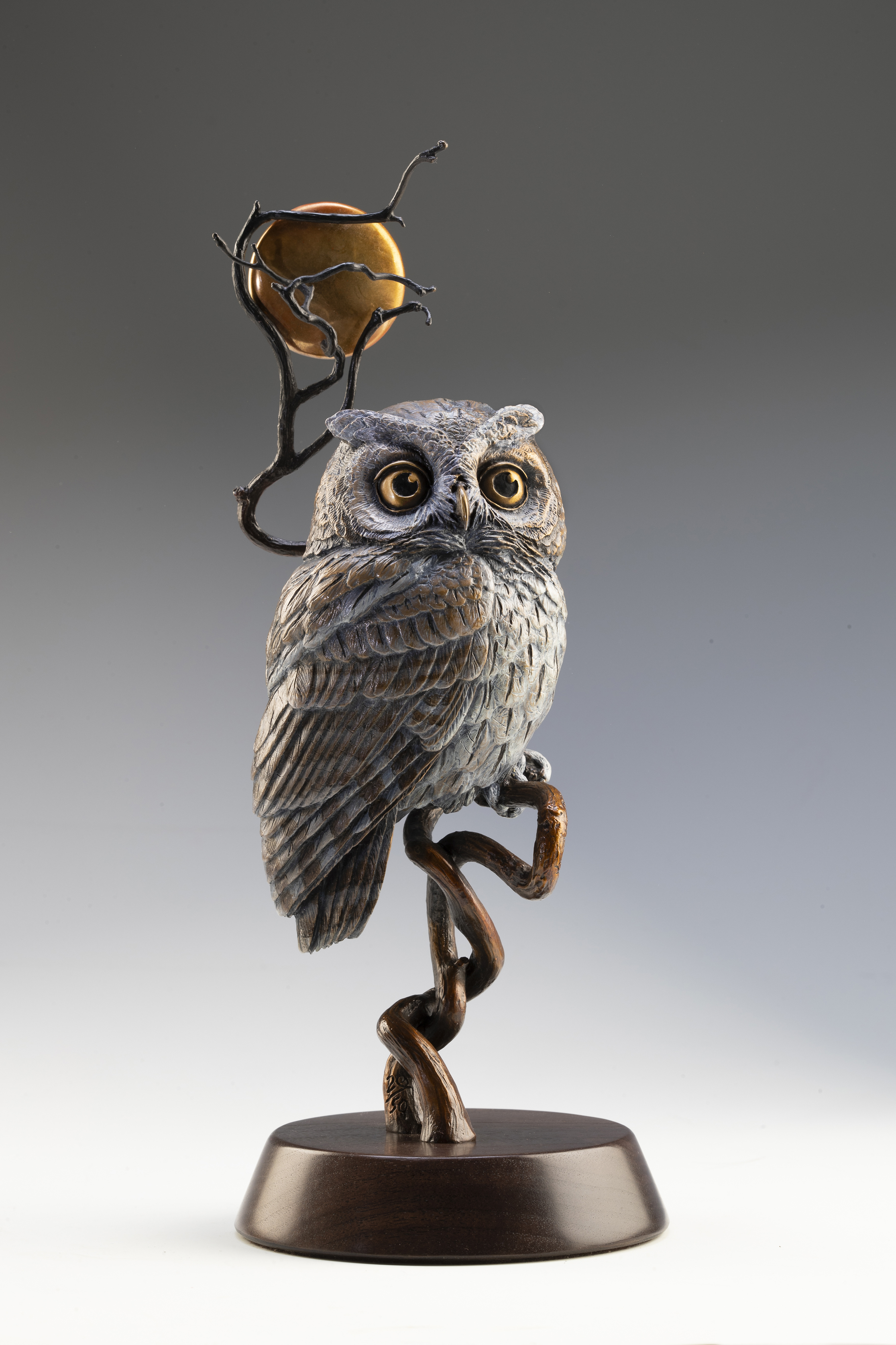 """Moonlight with Round Base 