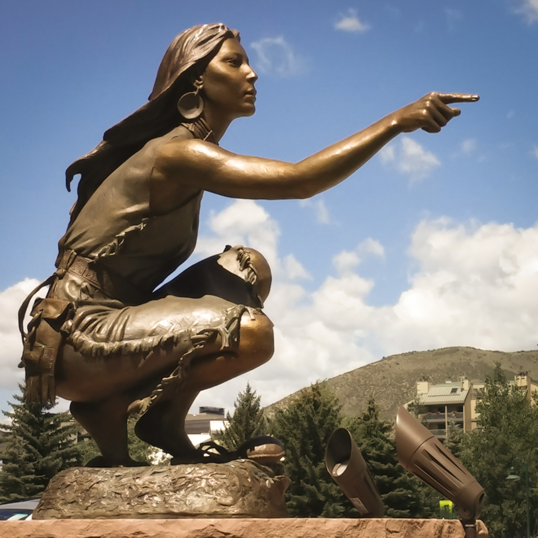 Clear Vision, Monument | 115% Life Size | Bronze | $45,000