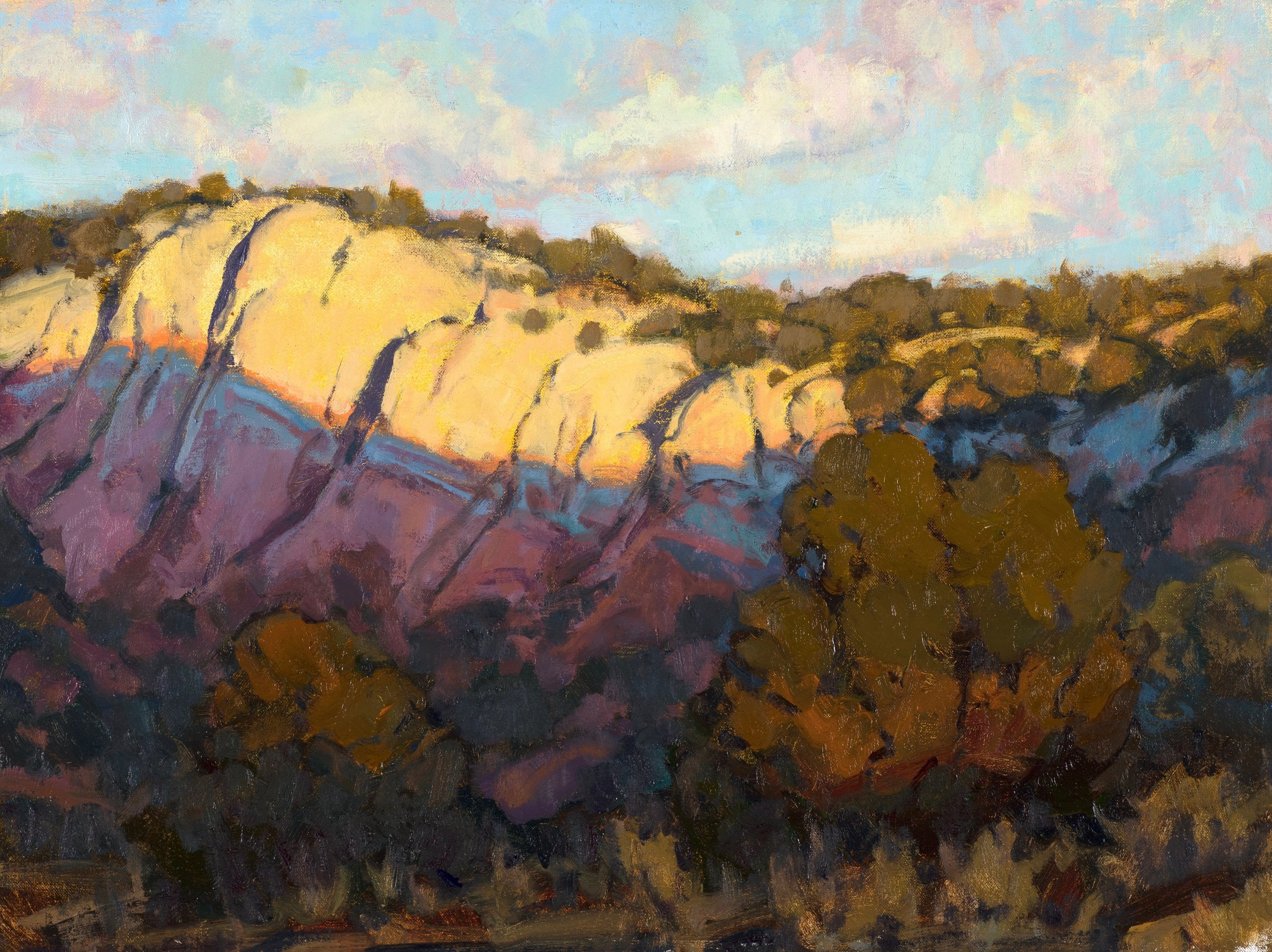 "Evening Light In the Canyon | 18"" x 24"" 