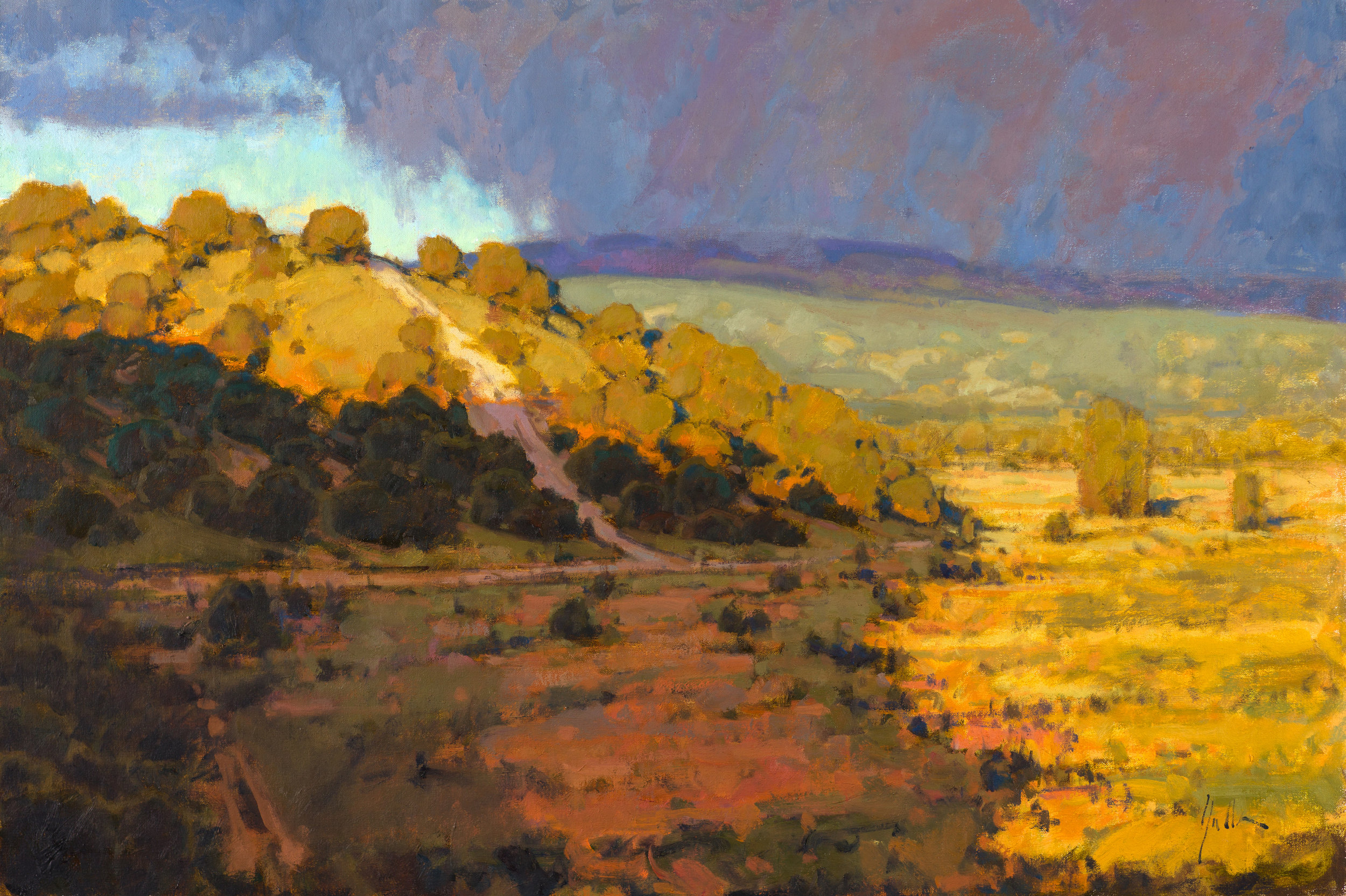 "Foothills Path | 24"" x 36"" 