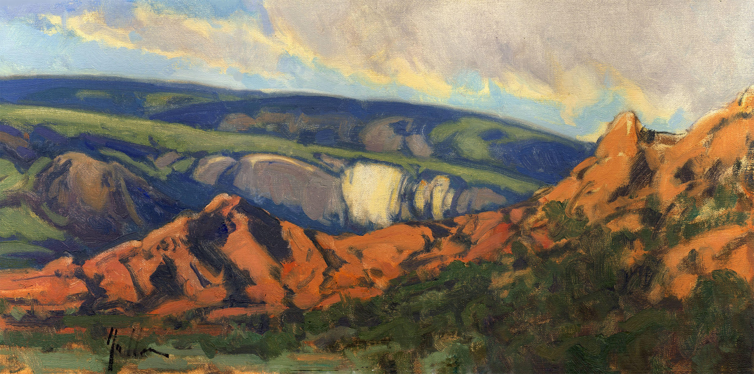 """Patterns on the Earth 