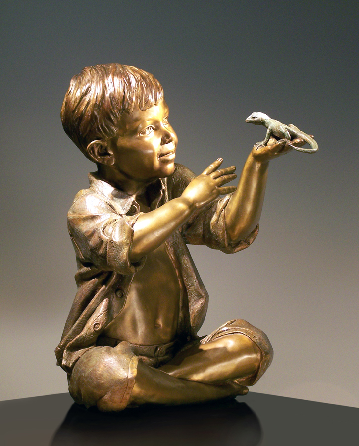 Catch n' Release   Bronze   Edition of 35   $6,500