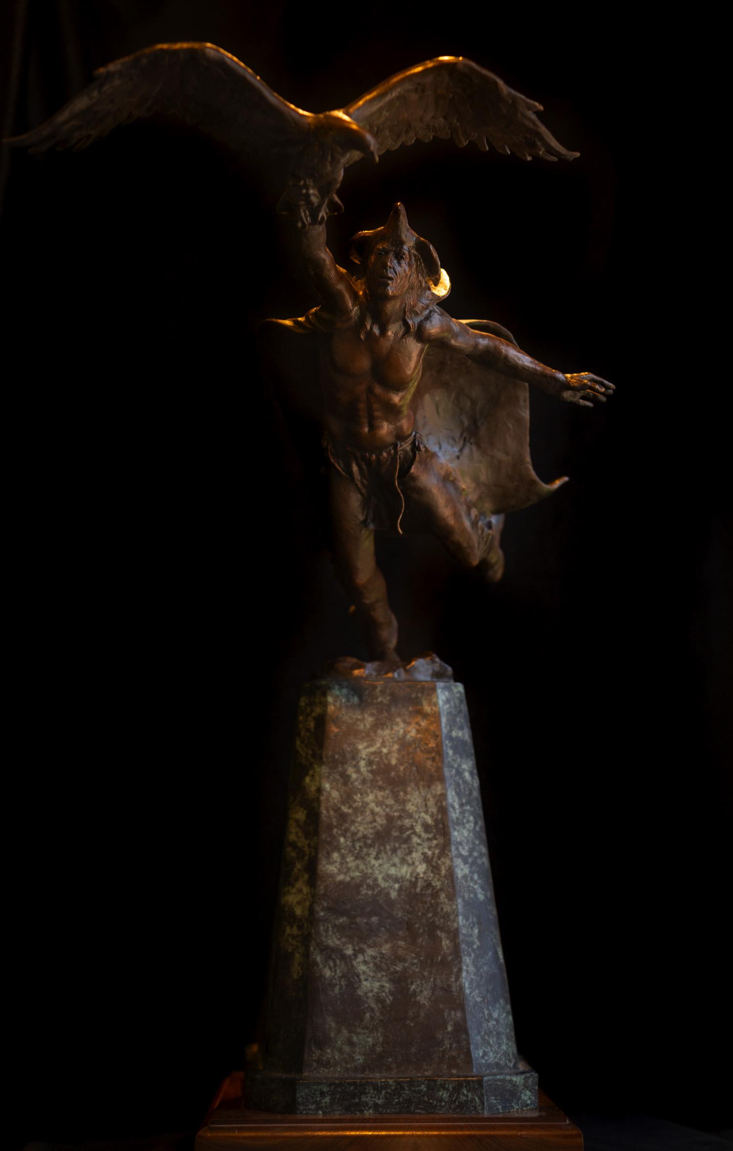 Dream of Flight (maquette) | Bronze | Edition of 30 | $5,500