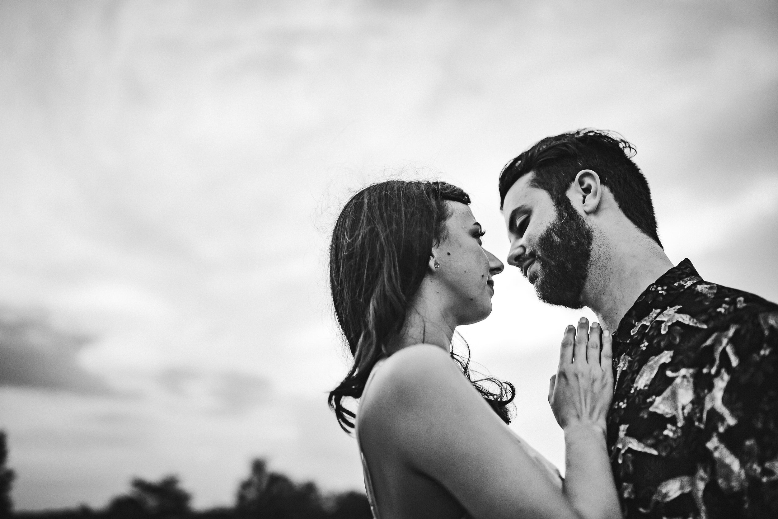black-and-white-engagement-portrait-love-intimate-engaged-session-tiny-house-photo-florida-documentary-wedding-photographer.jpg