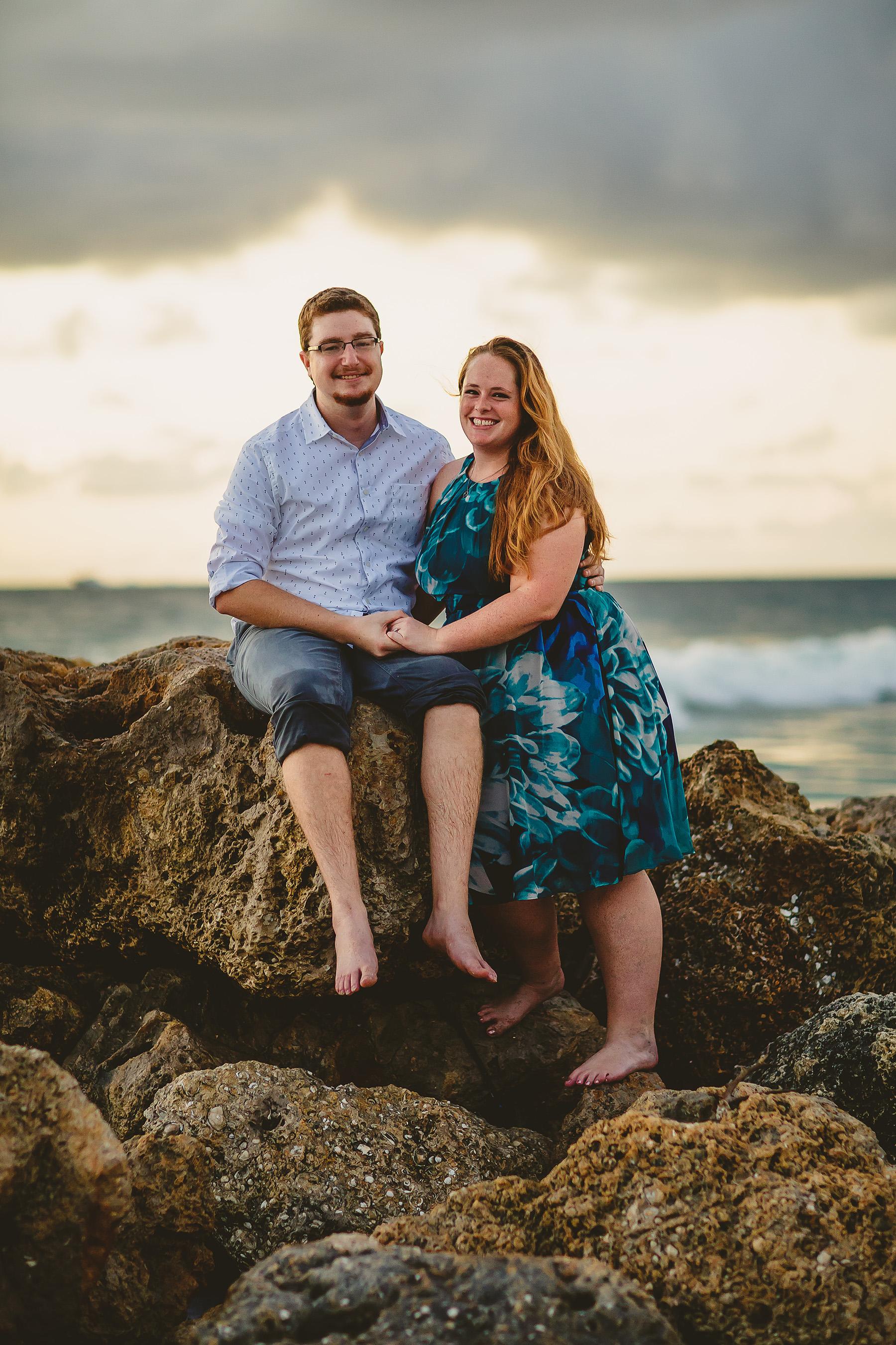 engaged-couple-beach-portraits-tiny-house-photo.jpg