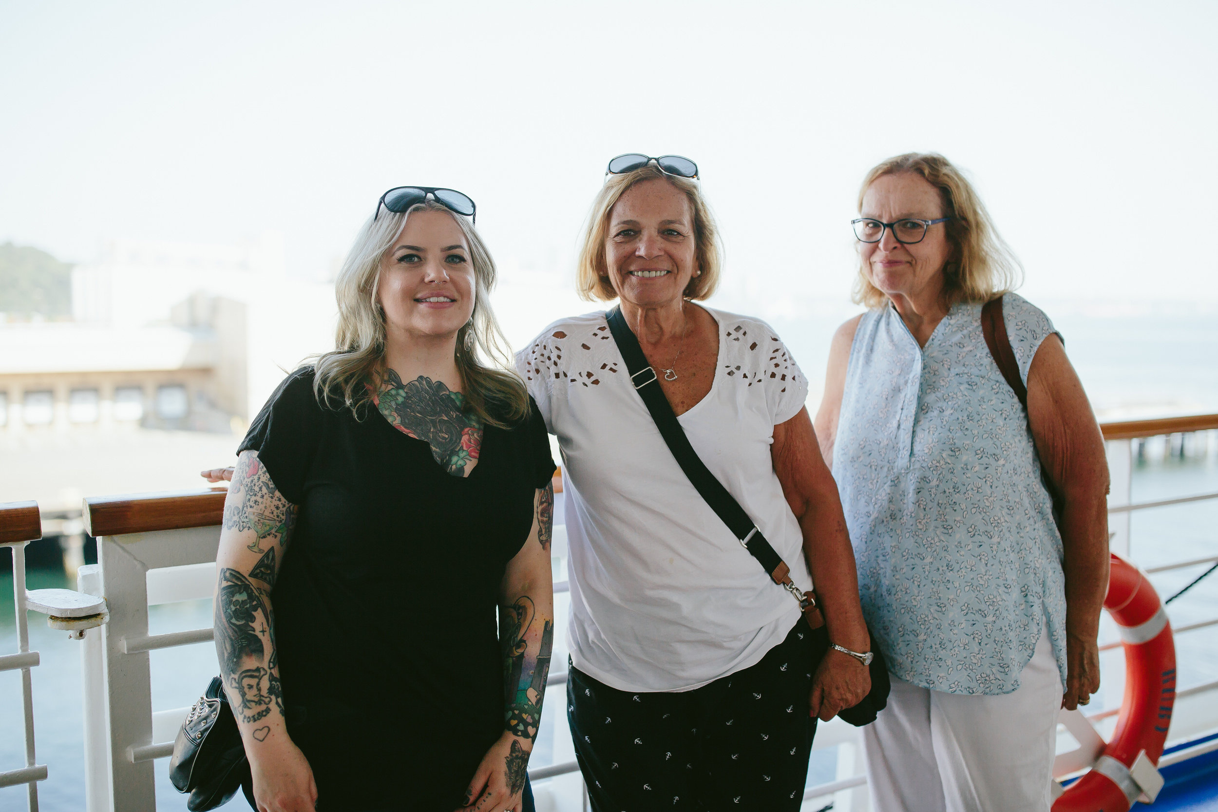 cousin mom aunt on ruby princess cruise to alaska
