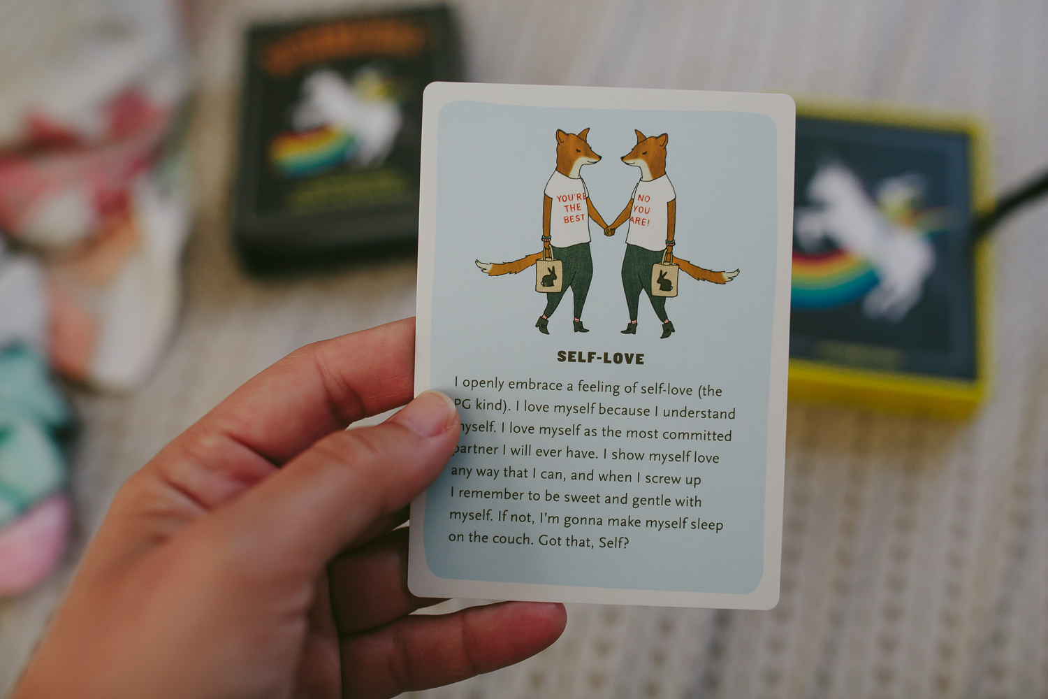 every day i pull a card. what do i need to know for today? what are your morning rituals?
