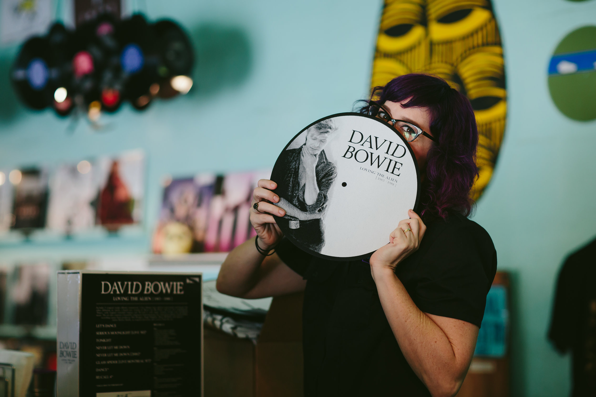 david bowie record sweat records lolo reskin by tiny house photo
