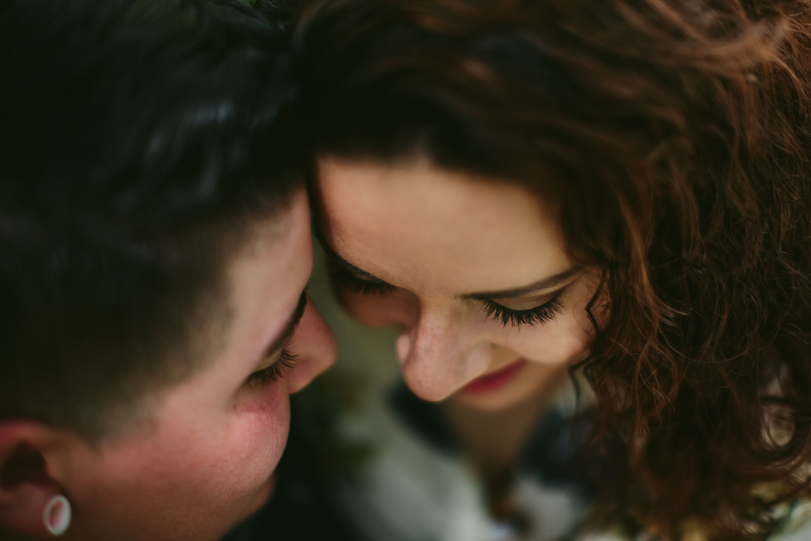 Intimate Engagement Portraits for LGBTQ couples