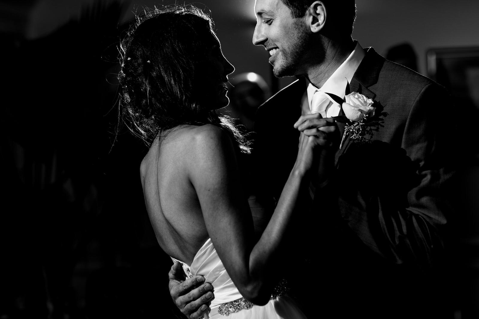 bride-groom-first-dance-jensen-beach-wedding-photographer-tiny-house-photo