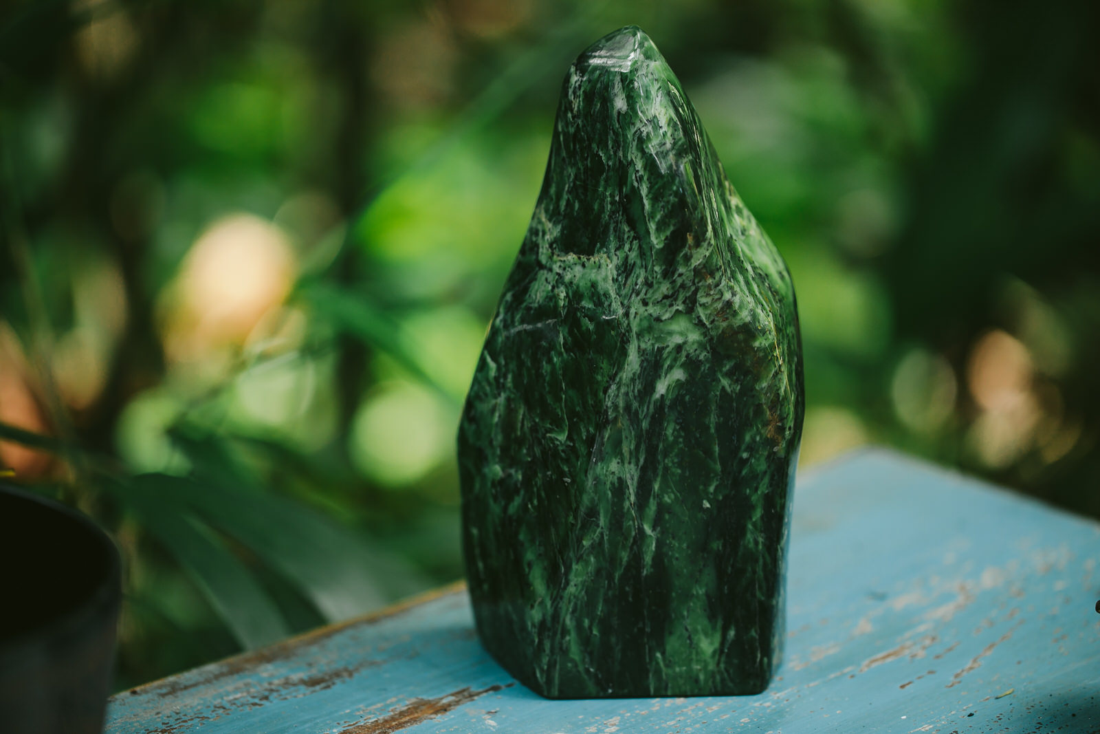 Green Jade stone from Crystal Vision LTC in Hollywood!