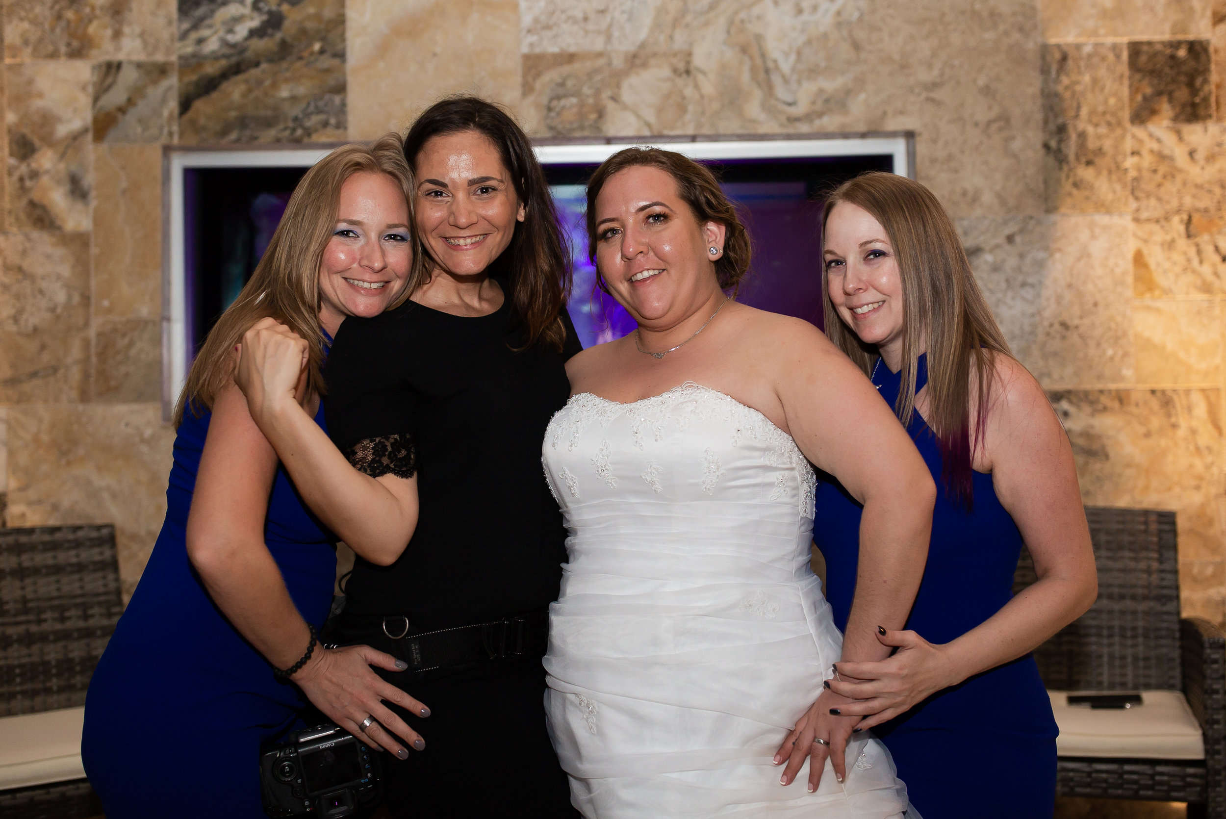 it's extremely rare for me to jump in a photo, but i consider these three sisters my family!