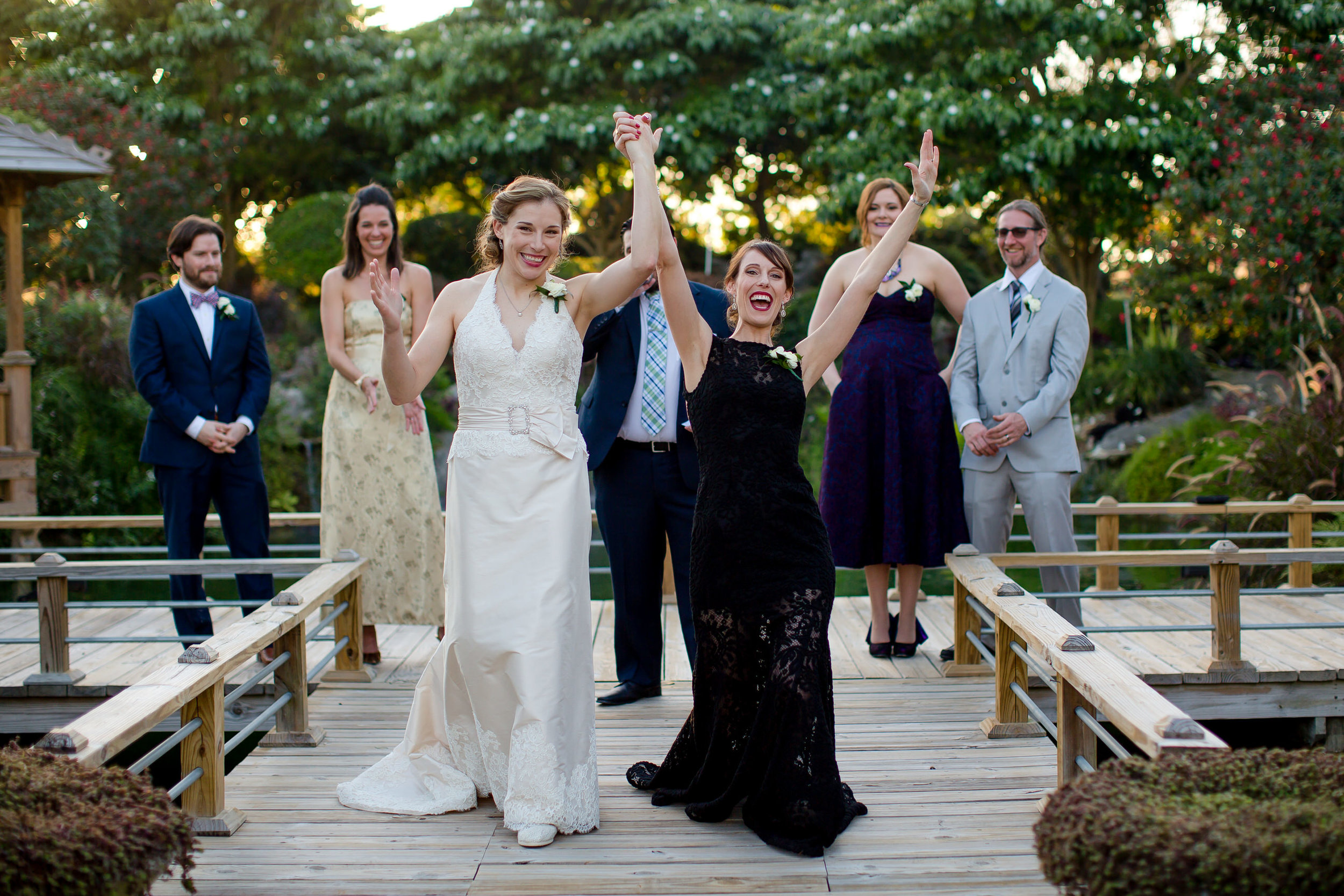 Gorgeous Brides Wedding at the Redland Koi Gardens in Homestead, FL by Tiny House Photo