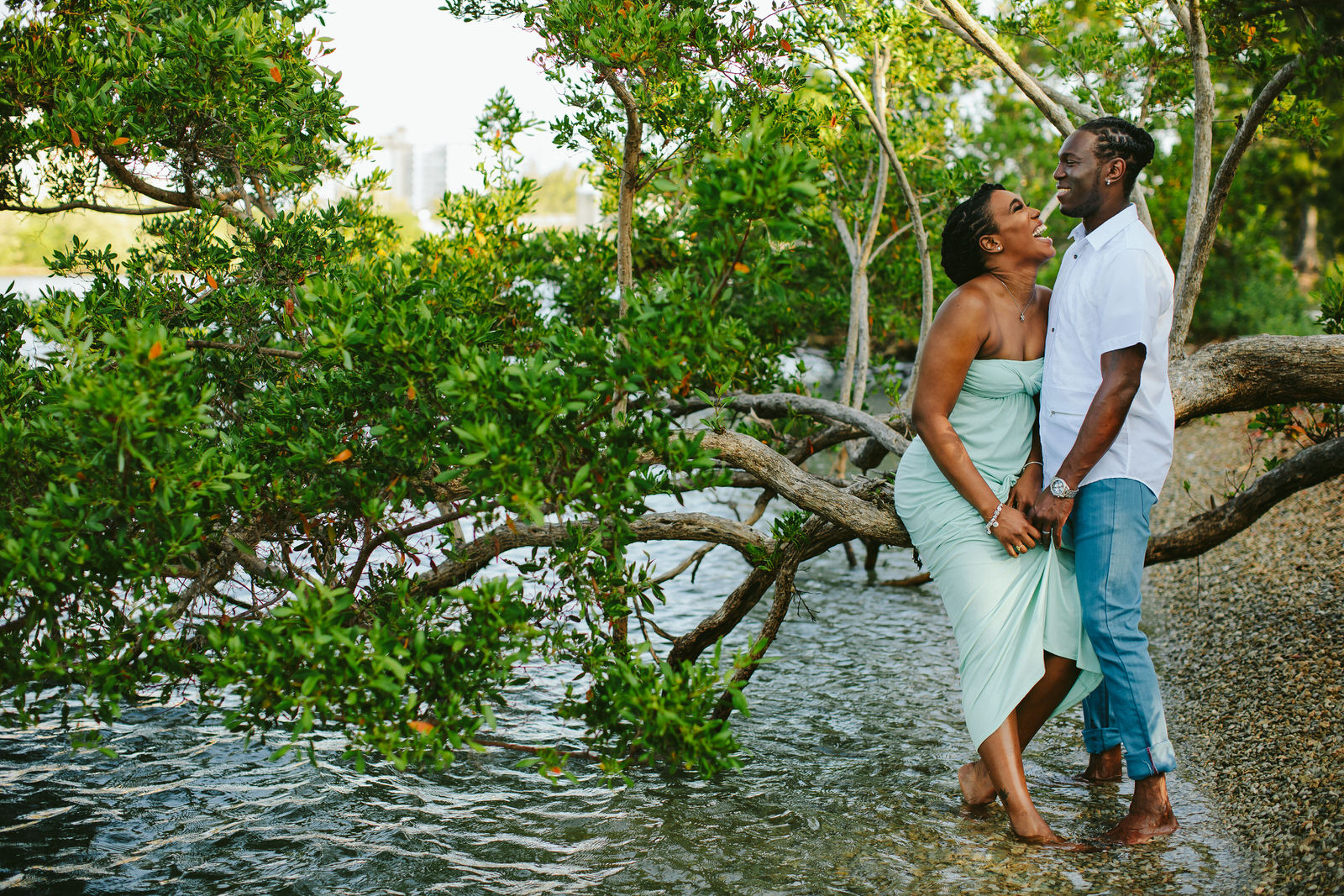 Miami Engagement Photographer Tiny House Photo