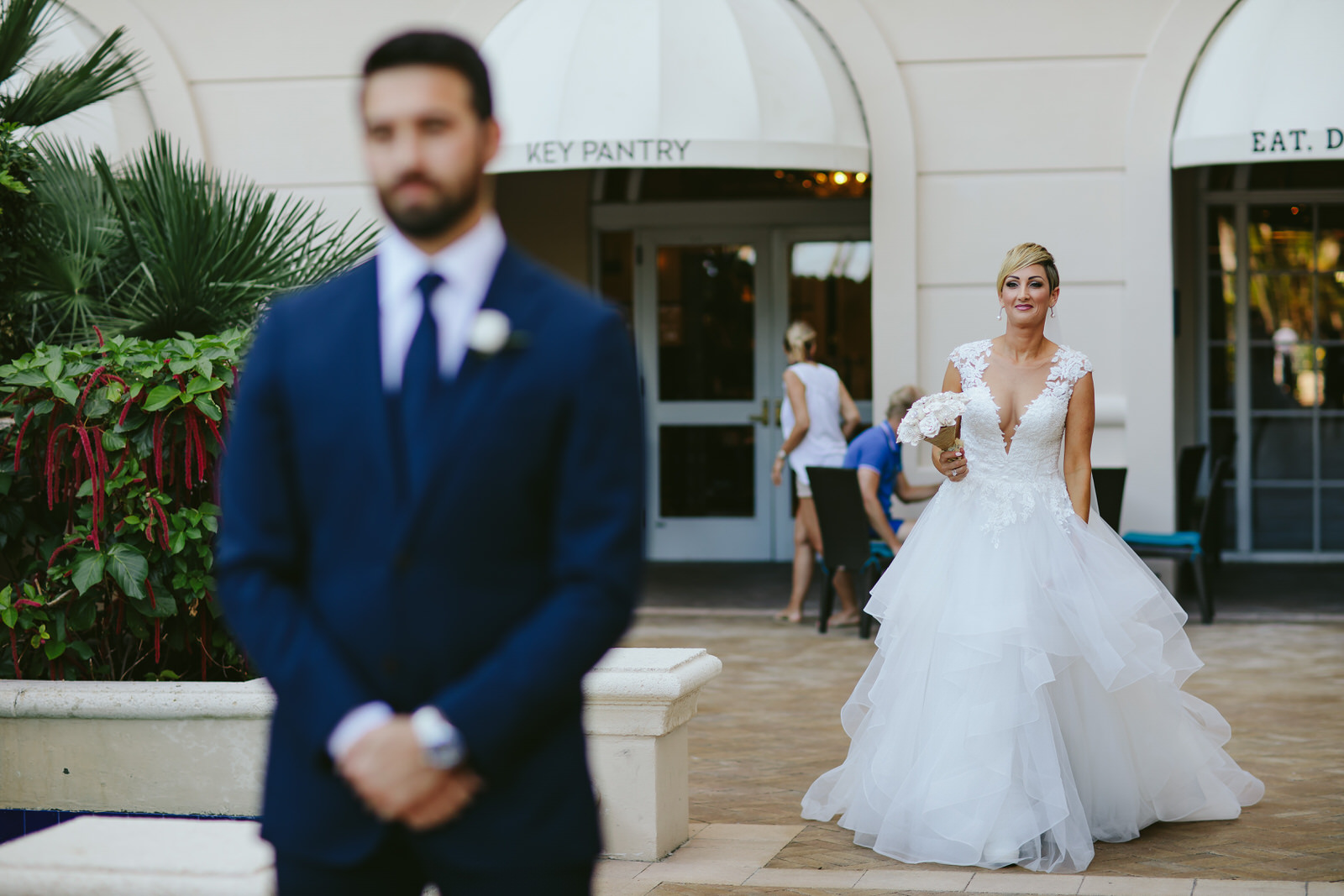 miami ritz carlton wedding first look
