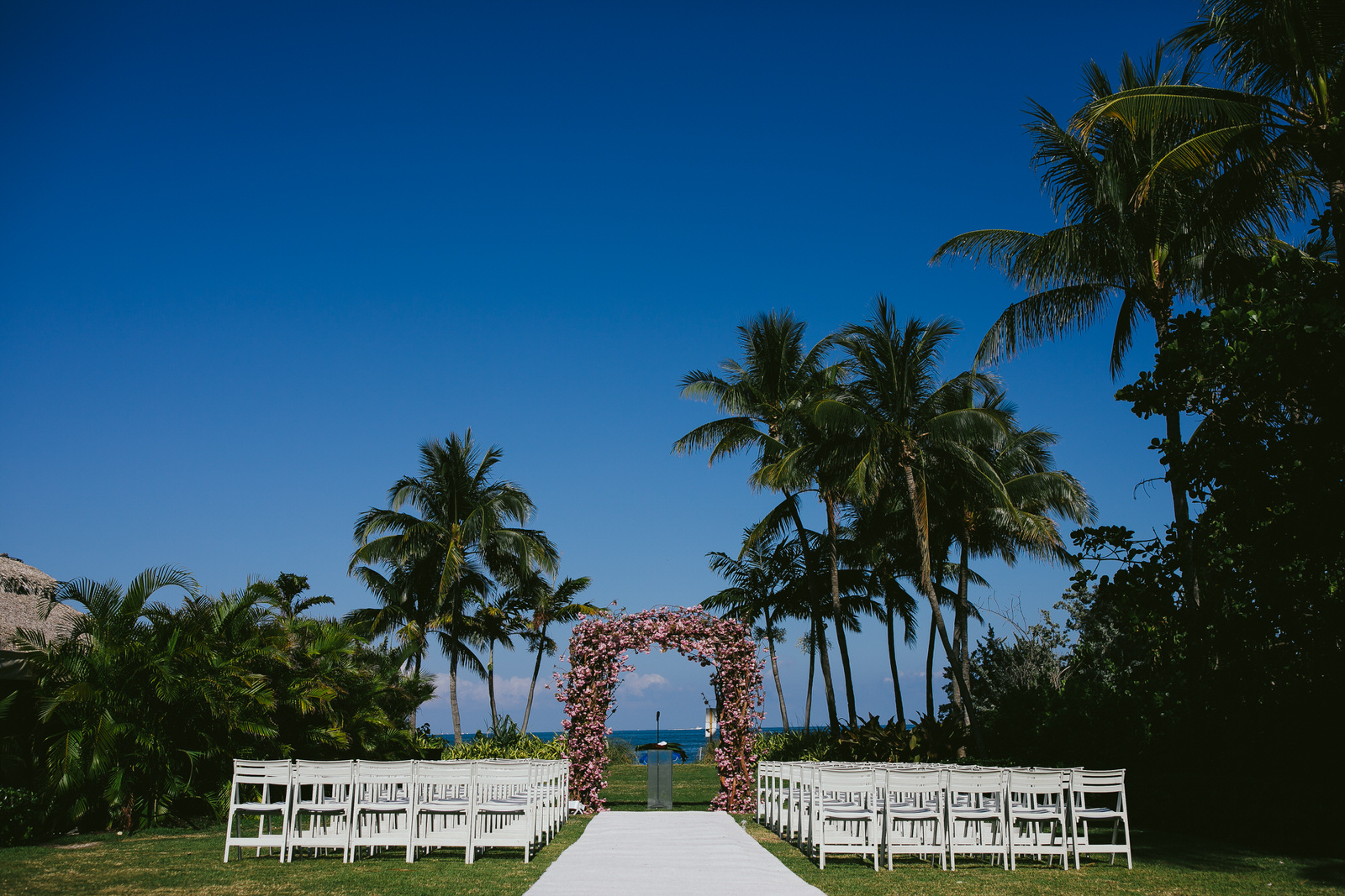 florida key biscayne wedding ritz carlton tiny house photo