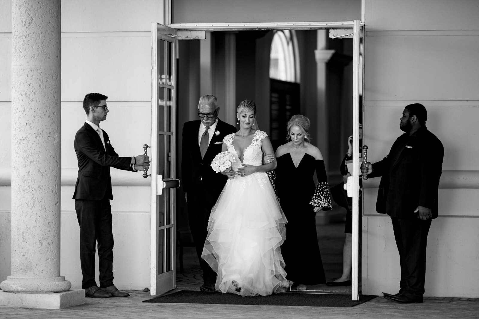 Here Comes The Bride Miami Key Biscayne Wedding