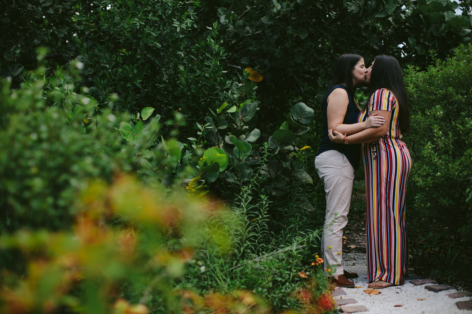 Adorable LGBTQ Engagement Portraits Miami Florida.jpg