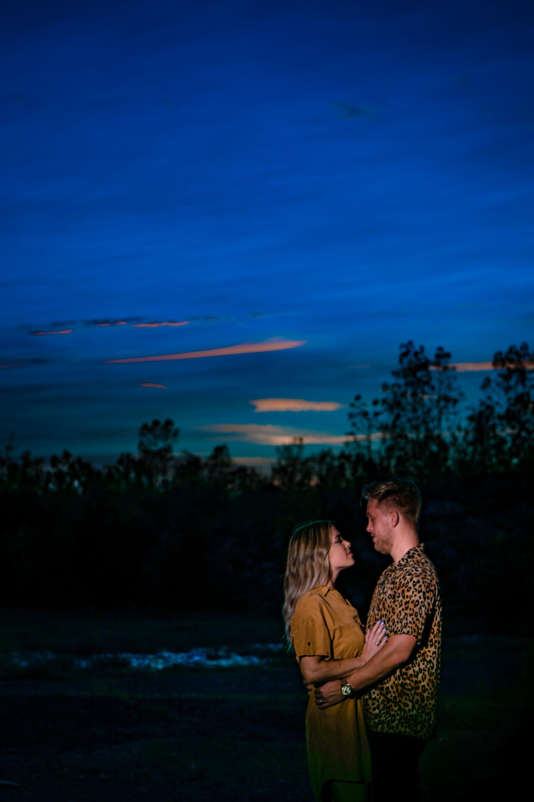 Gorgeous Couple Sunset Dayton Ohio