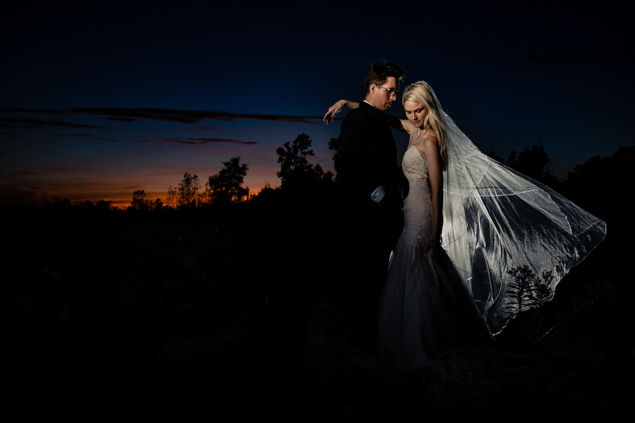 Bride and Groom Sunset Quarry-2.jpg