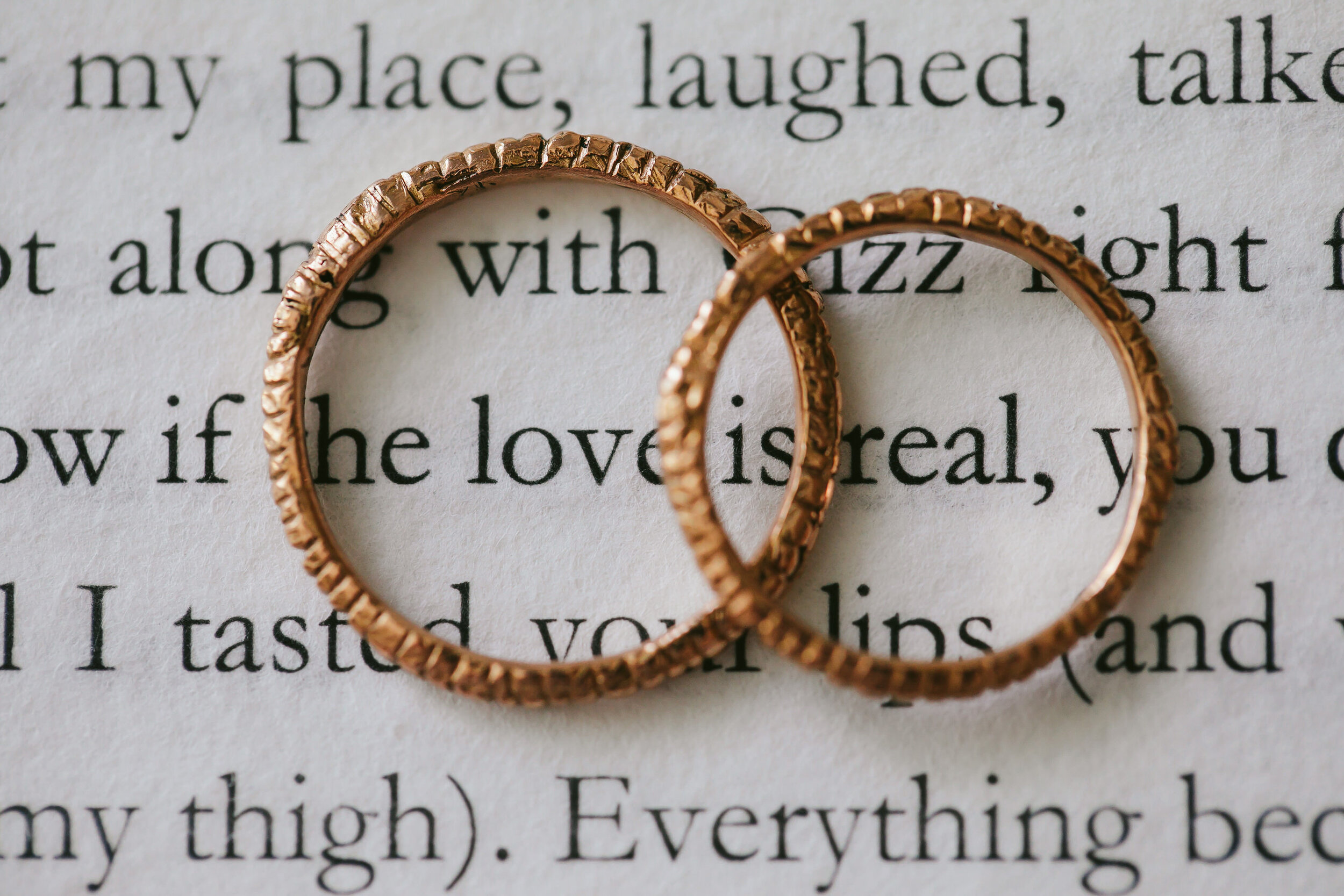 Love is Real Rings Miami Elopement