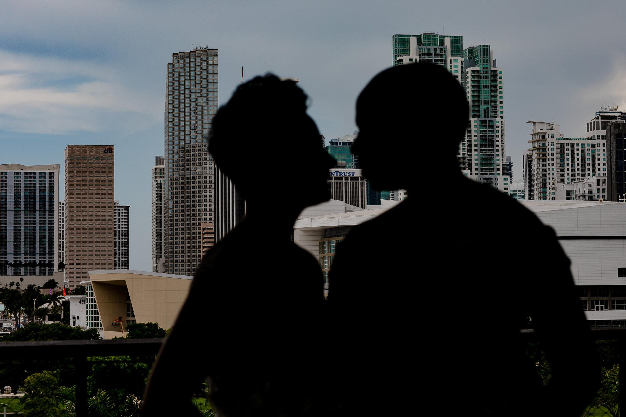PAMM Elopement Ceremony LGBTQ Couple Miami