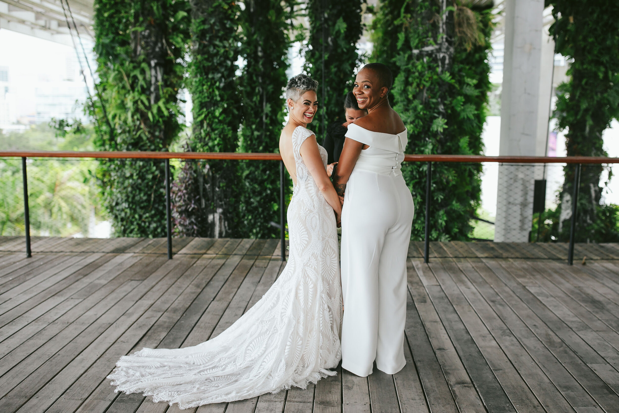 PAMM Elopement Ceremony LGBTQ Wedding