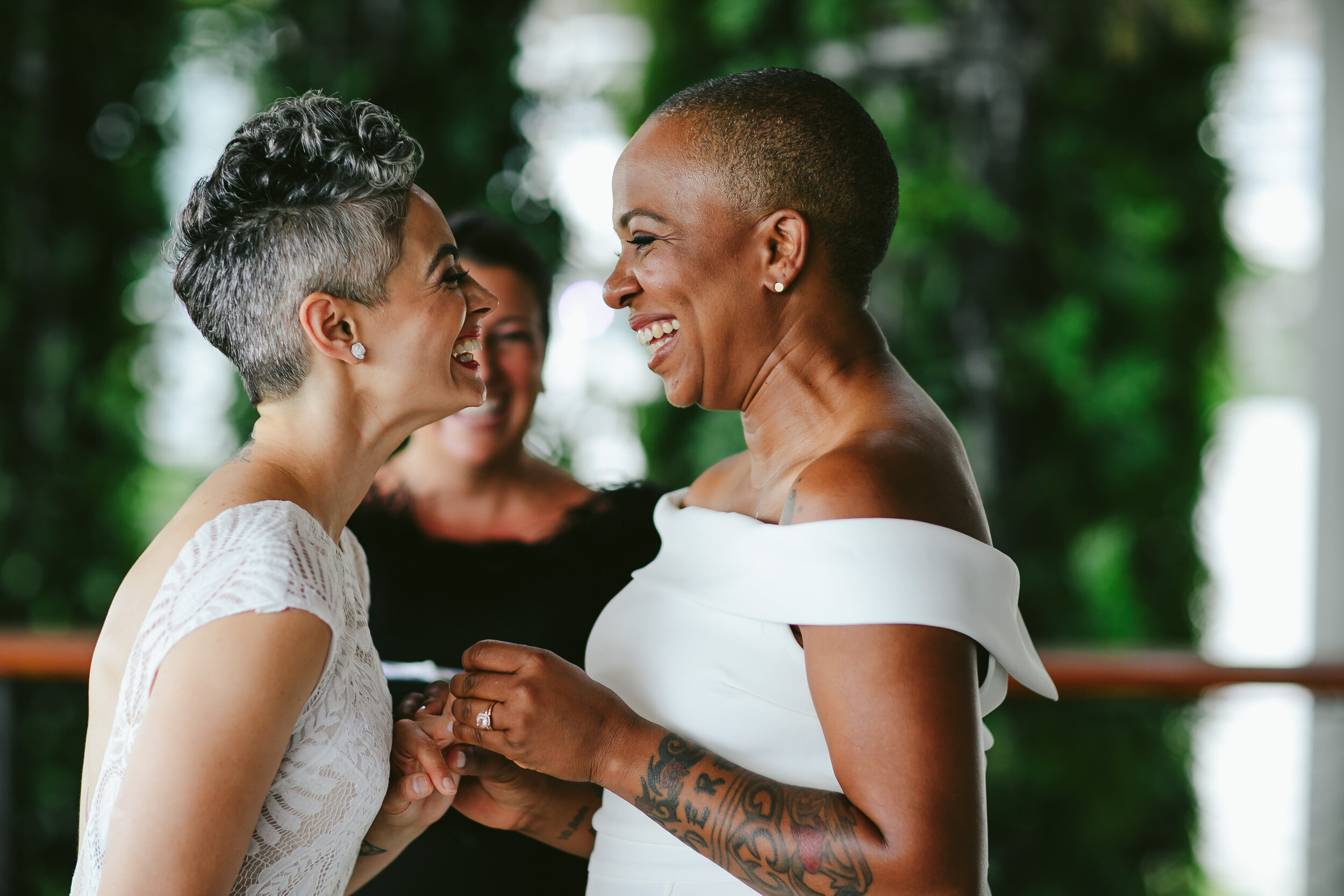 Gorgeous Lesbian Wedding PAMM Miami