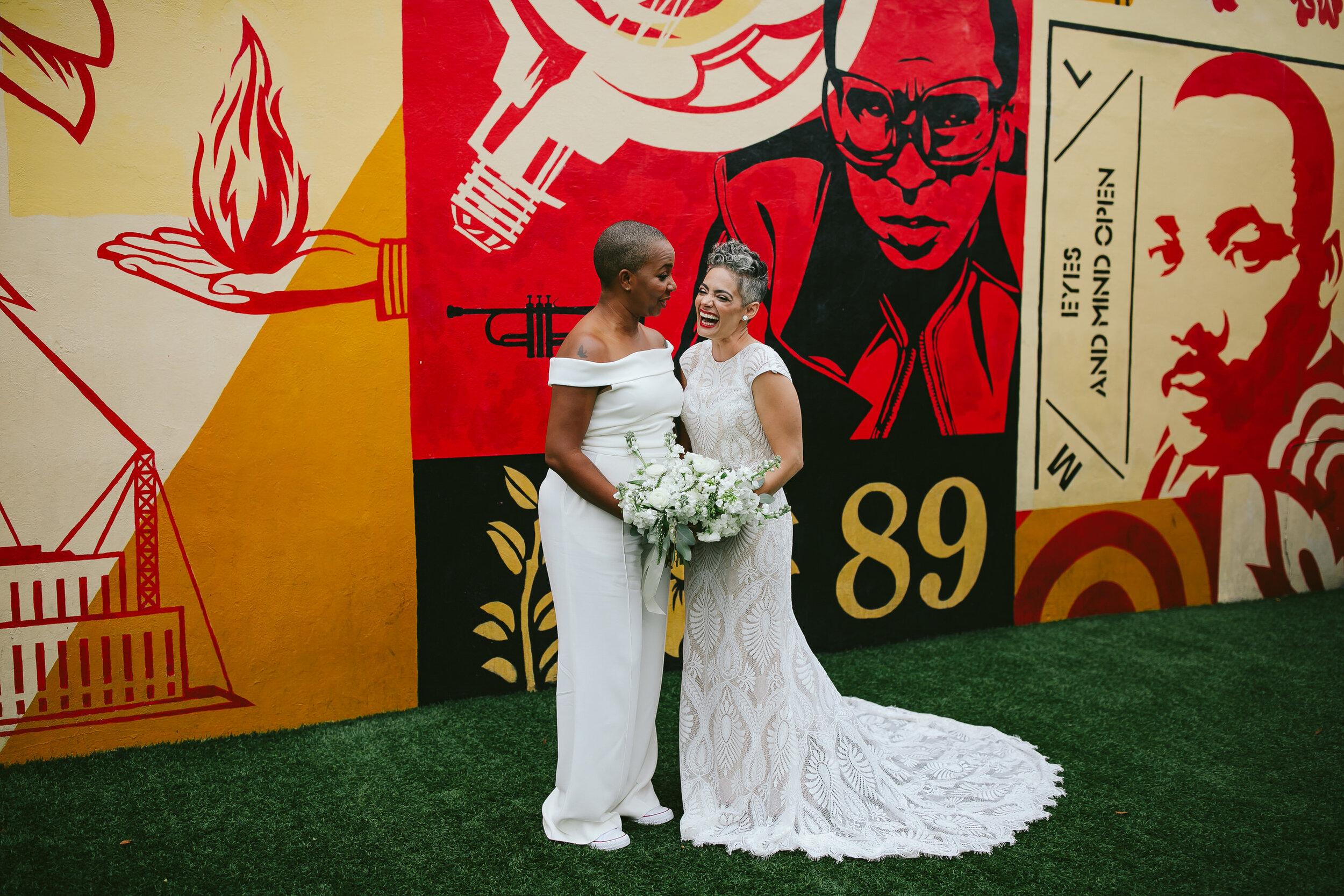 Brides Laughing Wynwood Walls Miami
