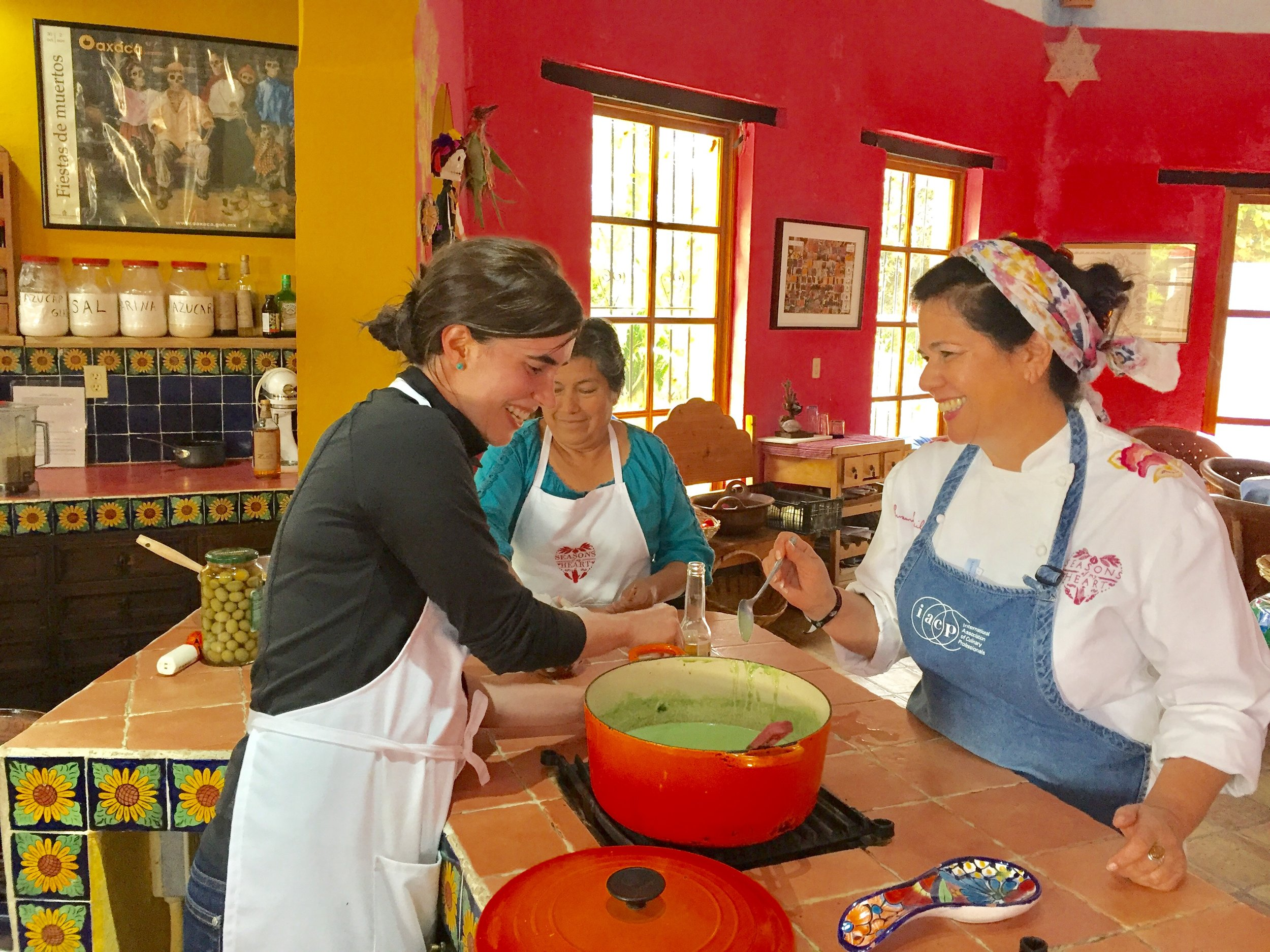 Cooking class in Mexico