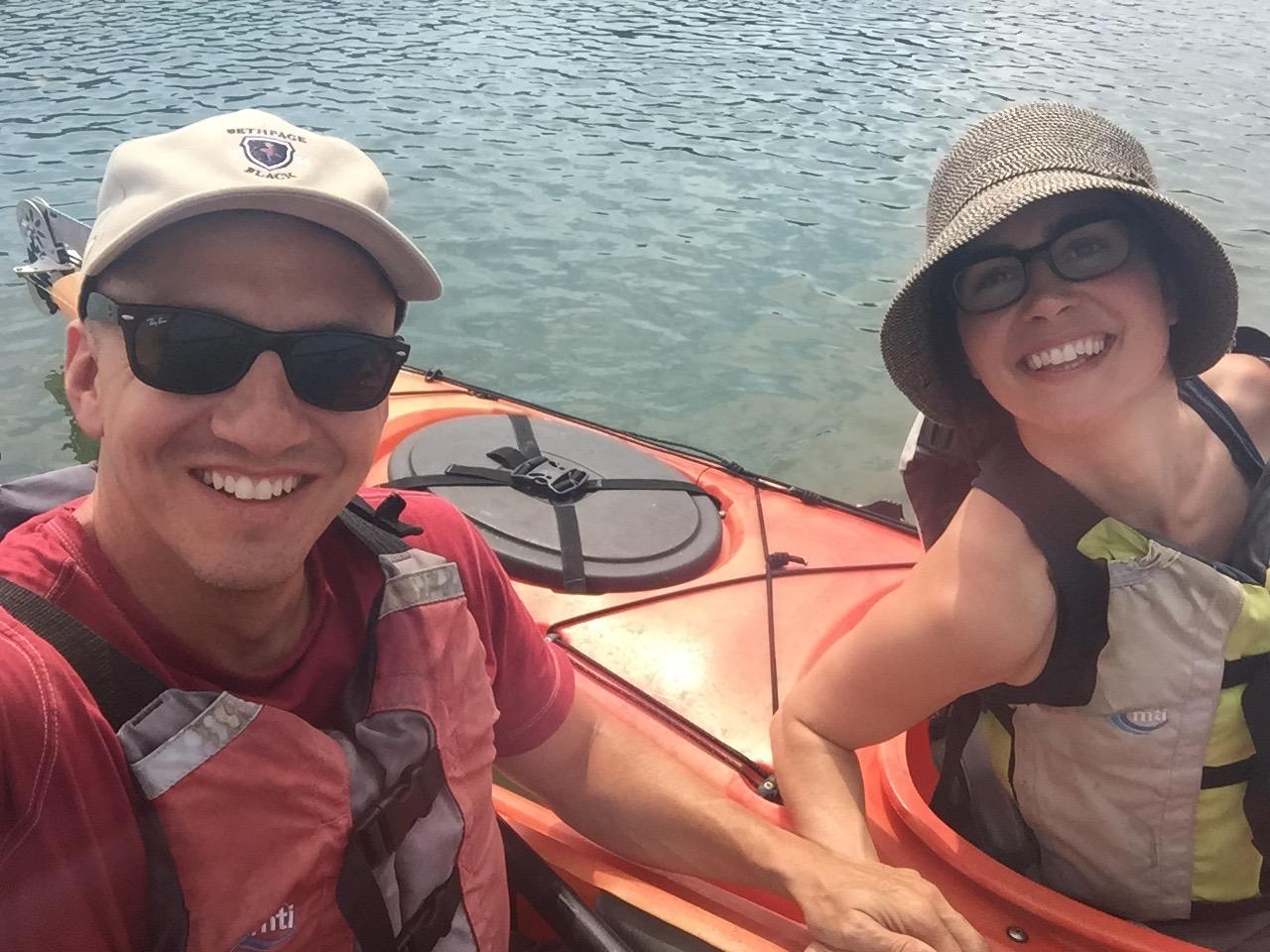 kayaking on Cape Cod, Massachusetts