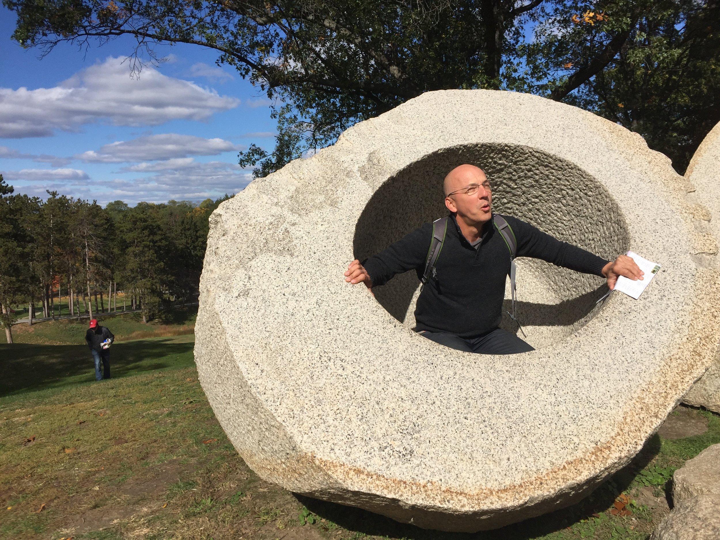 Sculpture in upstate New York