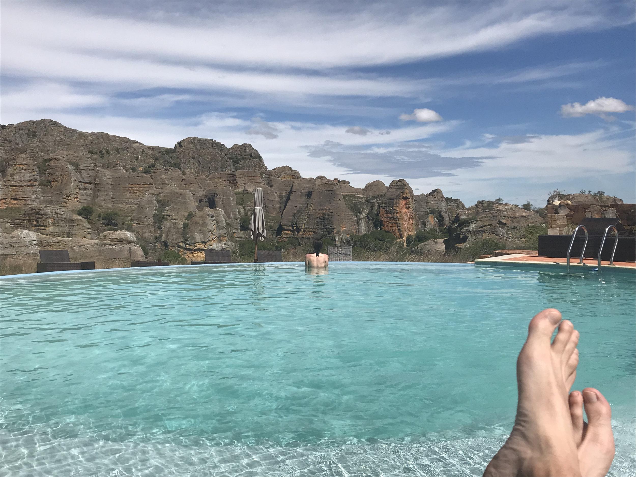 nice spot for a swim