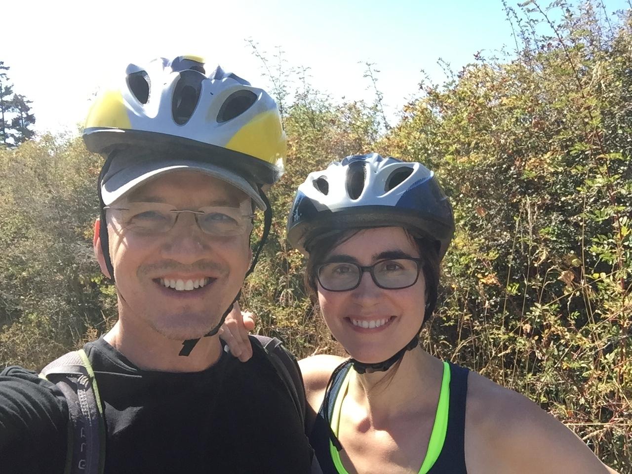 riding bike's in Washington state