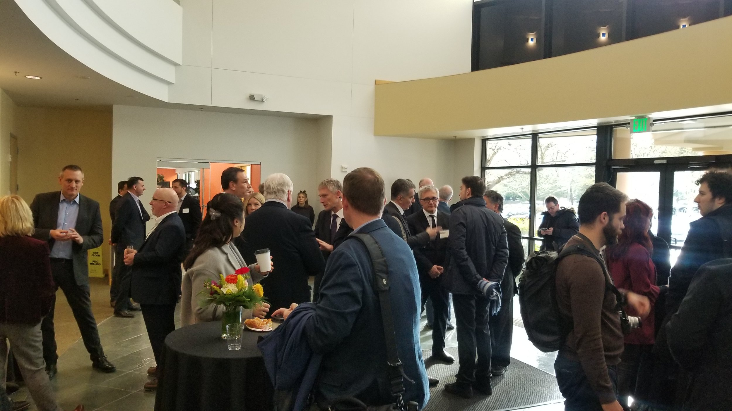 Grand Opening of LeoStella facility - February 15, 2019