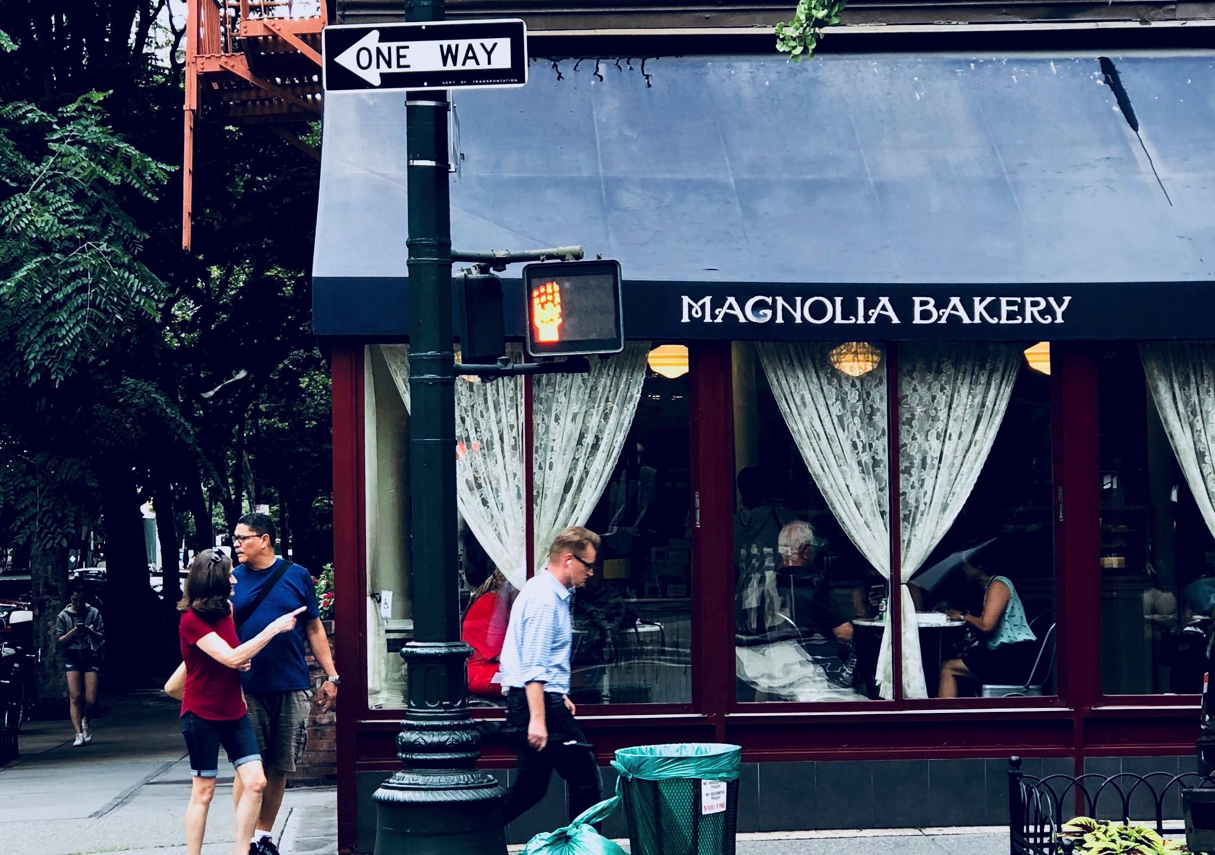 Image taken by Sara Kreski, Magnolia Bakery - 2018.