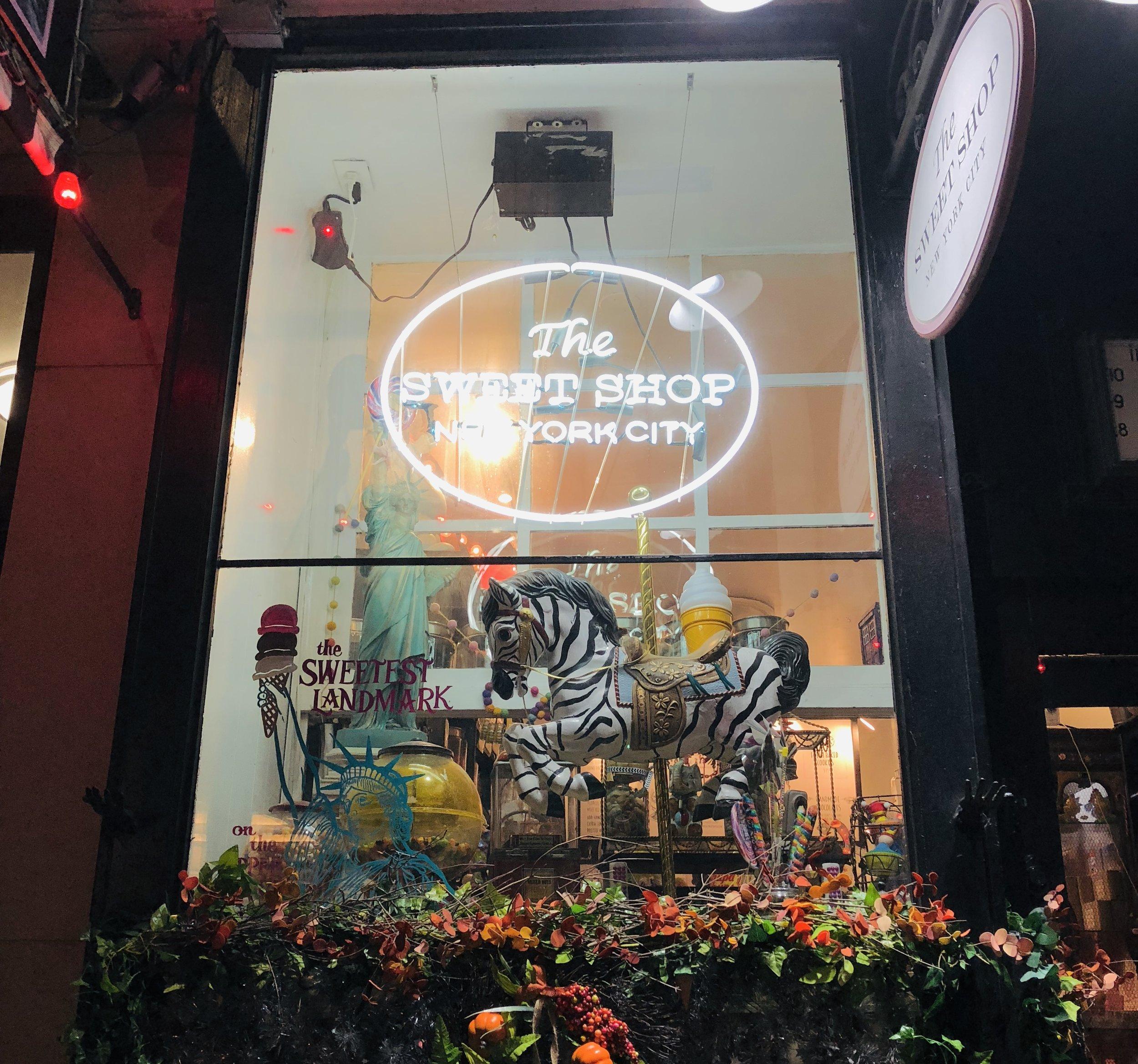 Photo by Sara Kreski, The Sweet Shop, September 2018.
