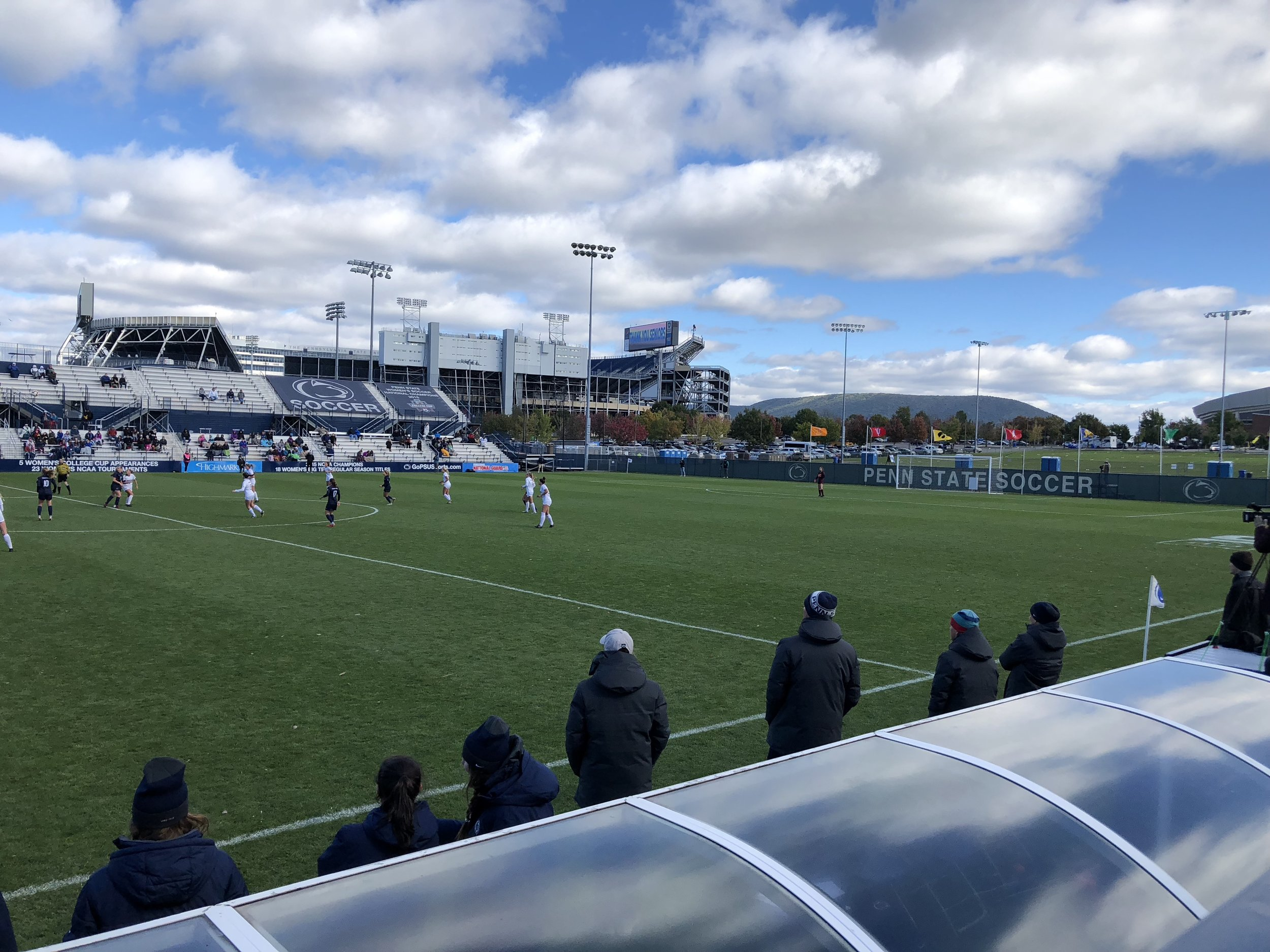 Image taken by Samantha McHenry. Penn State Soccer Field, October 2018.