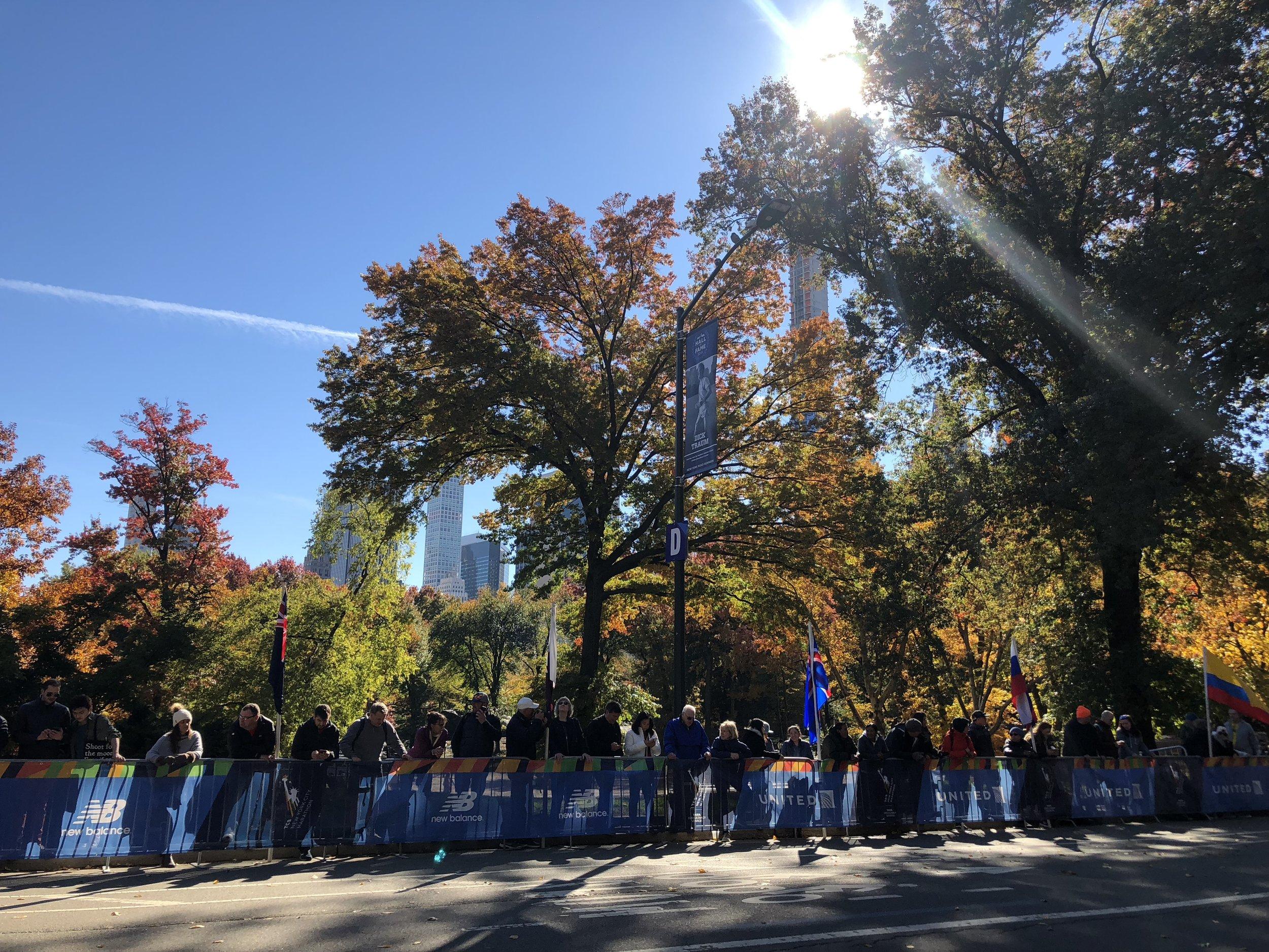Photo taken by Samantha McHenry. NYC Marathon, November 2018.