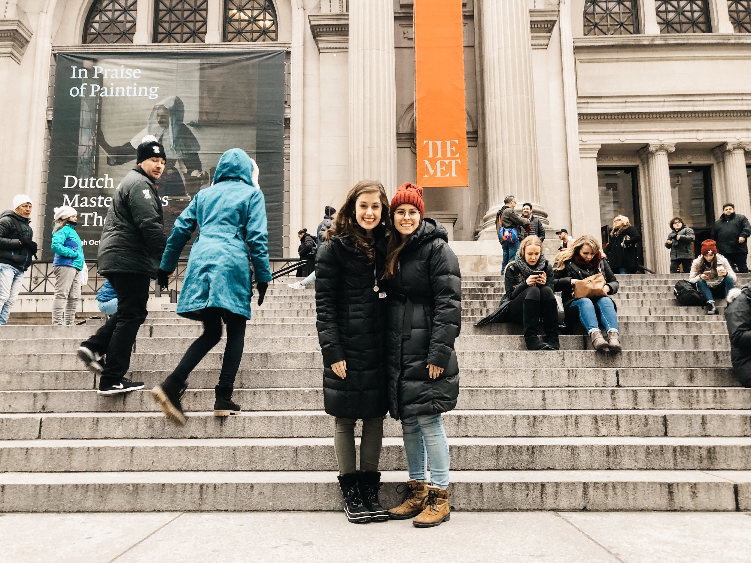 The Metropolitan Museum of Art, photo taken by a stranger. 2019.