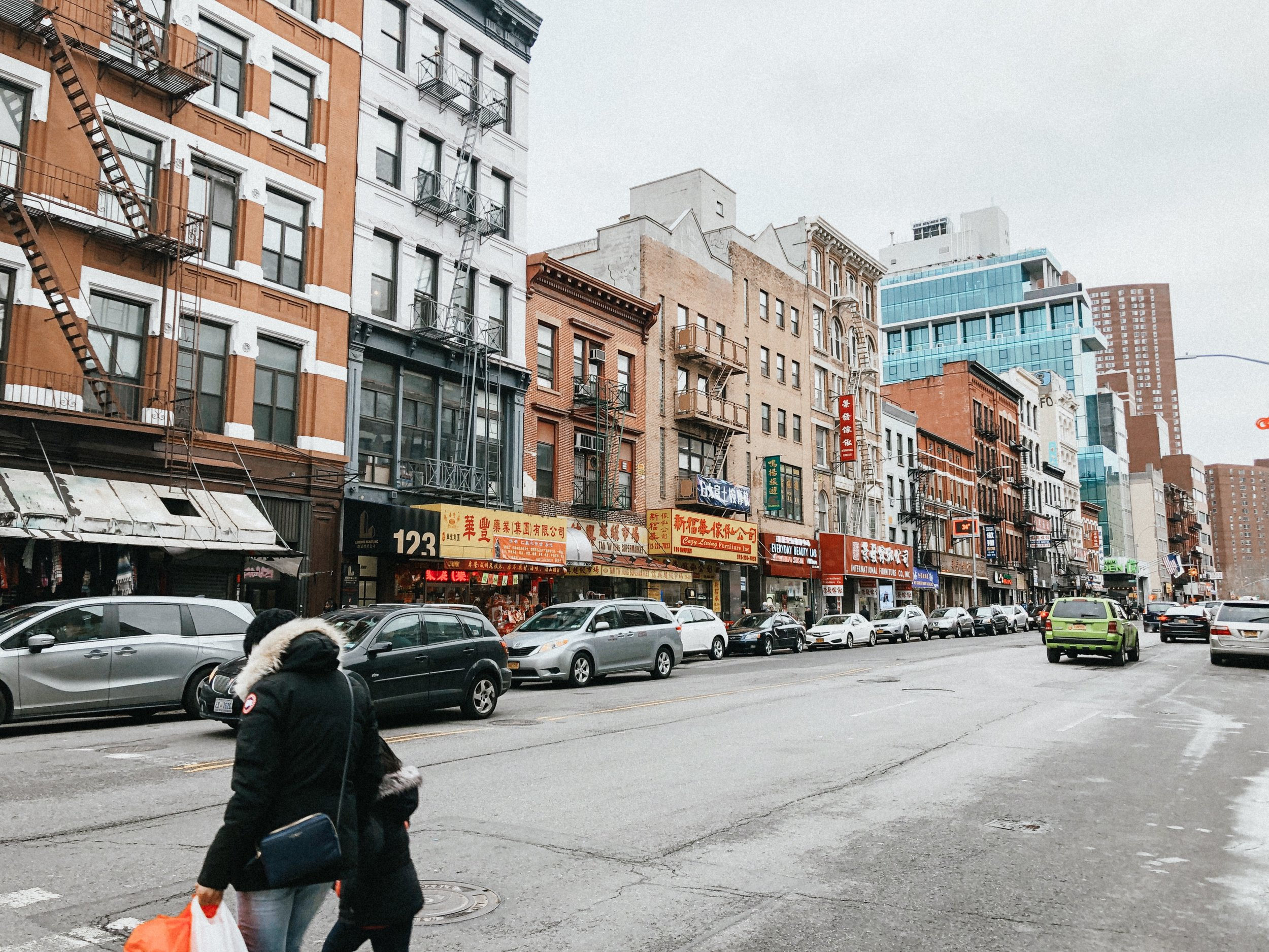 Photo of Chinatown, taken by Sara Kreski 2019.