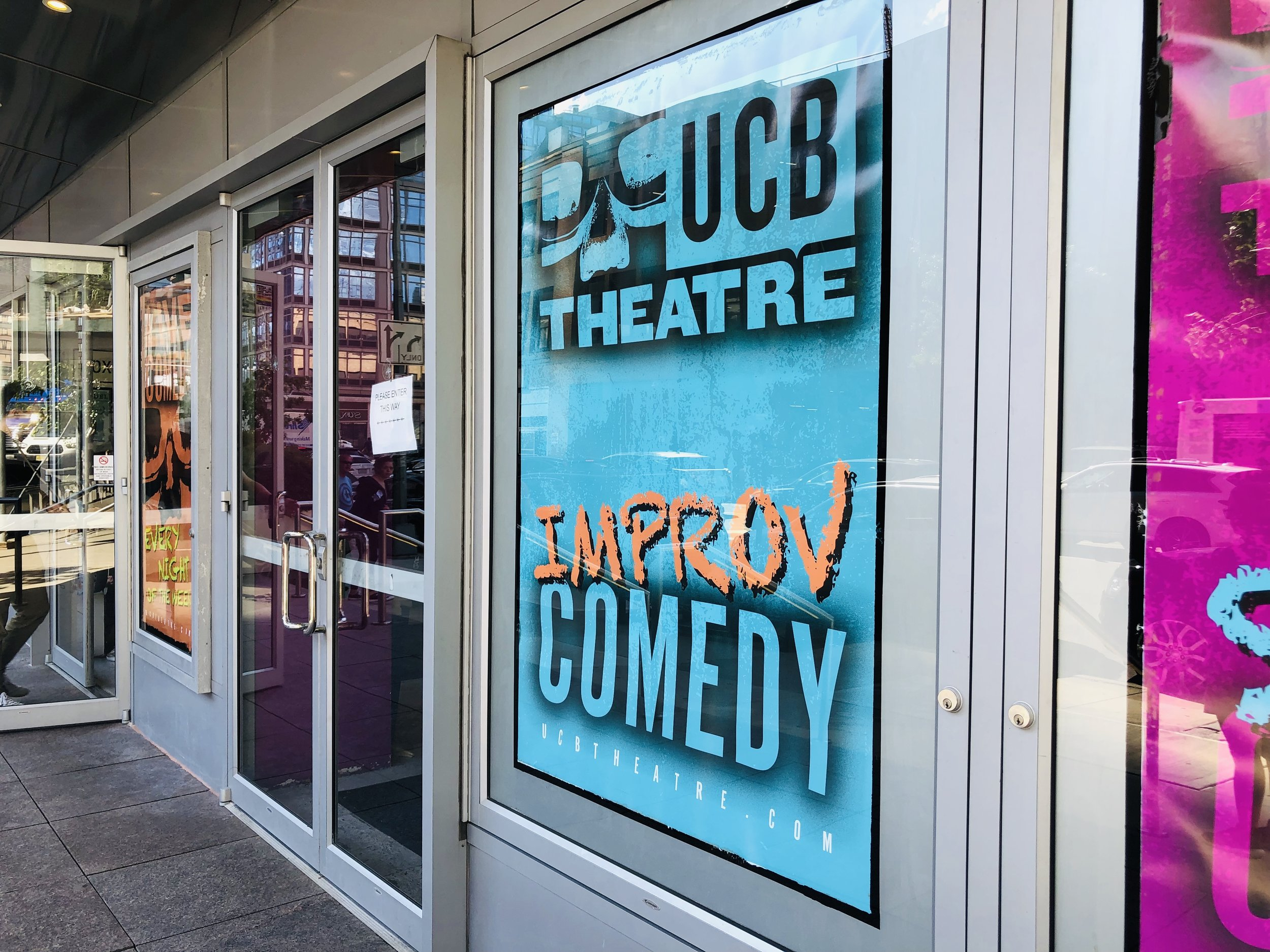 Photo of UCB in New York City, taken by Samantha McHenry in 2019.