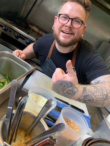 Chef Blum brings the spice, man.