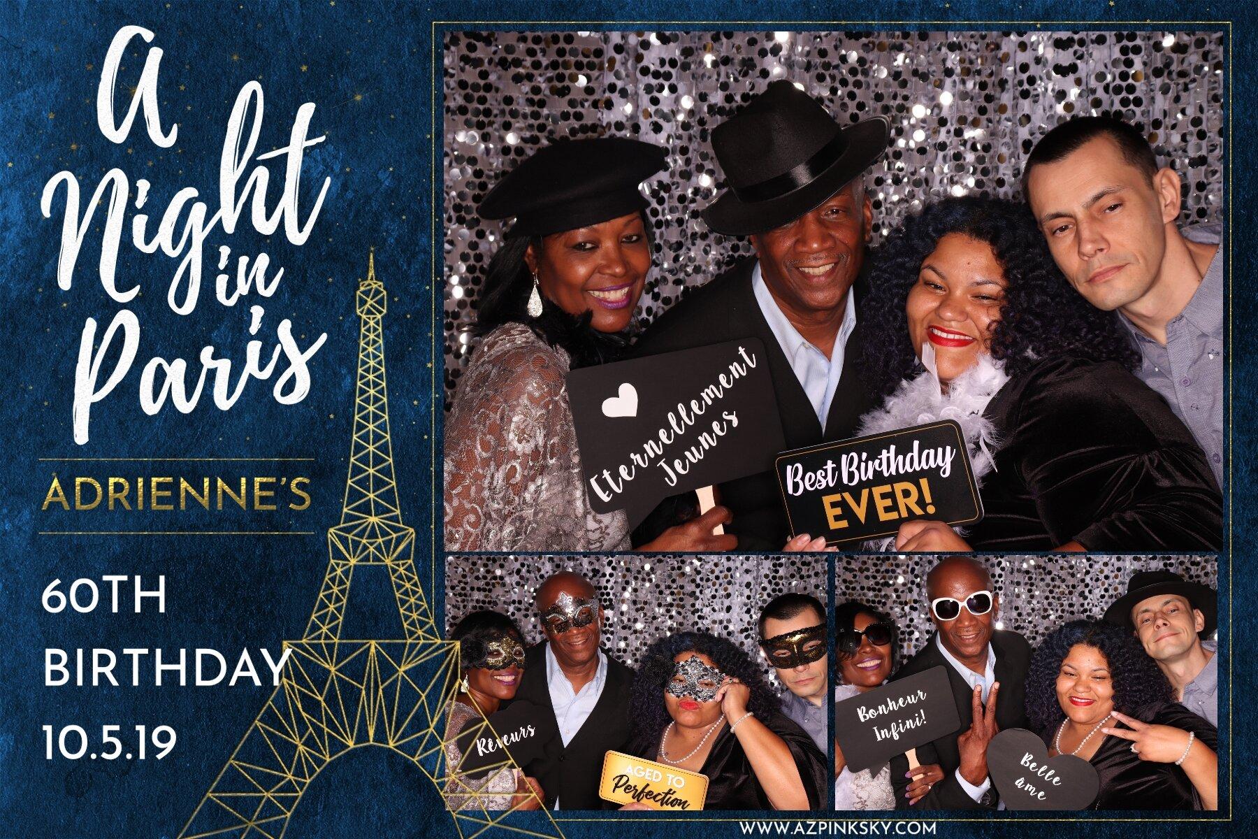 Paris Themed Event -